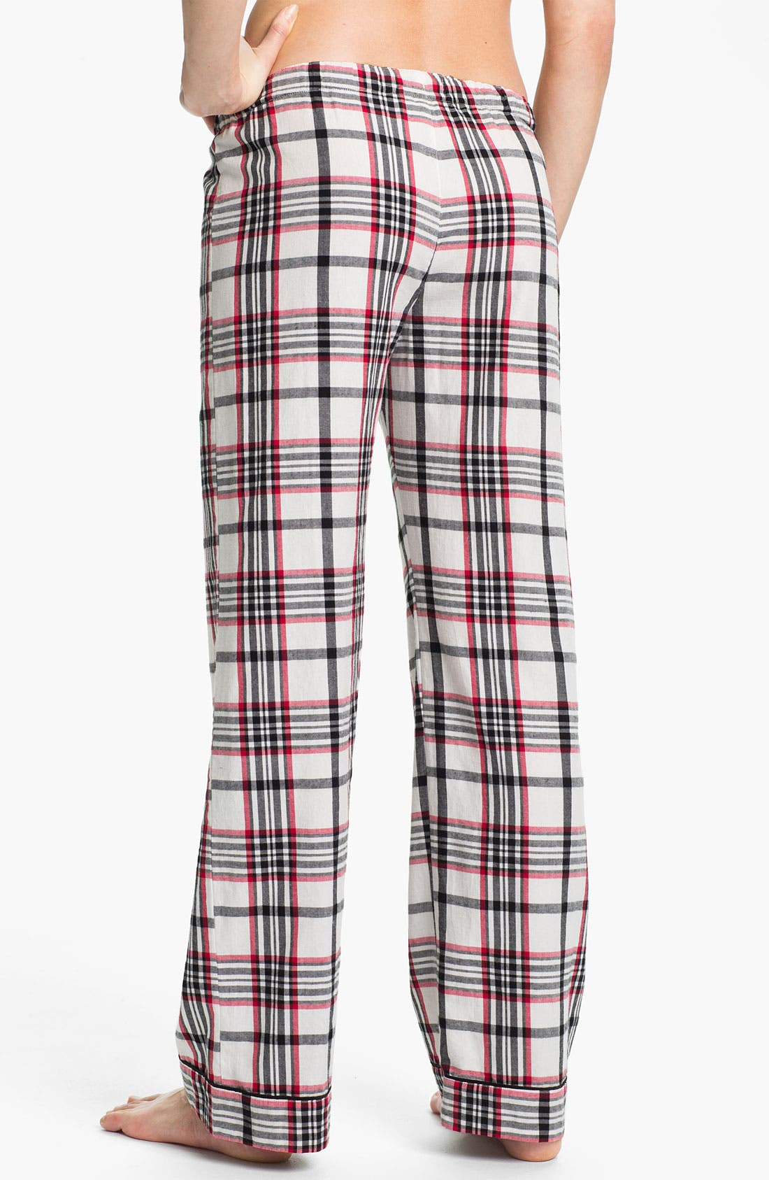 Alternate Image 2  - PJ Salvage 'Cherry Cherry' Check Pajama Pants