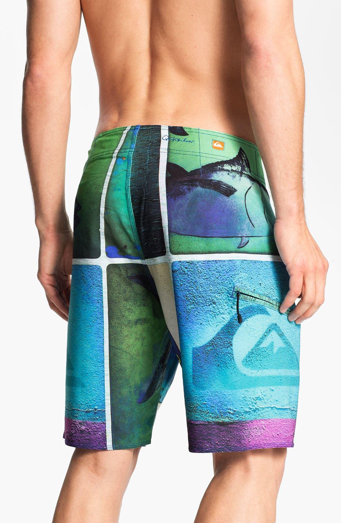 Alternate Image 2  - Quiksilver Waterman 'Sashimi' Board Shorts