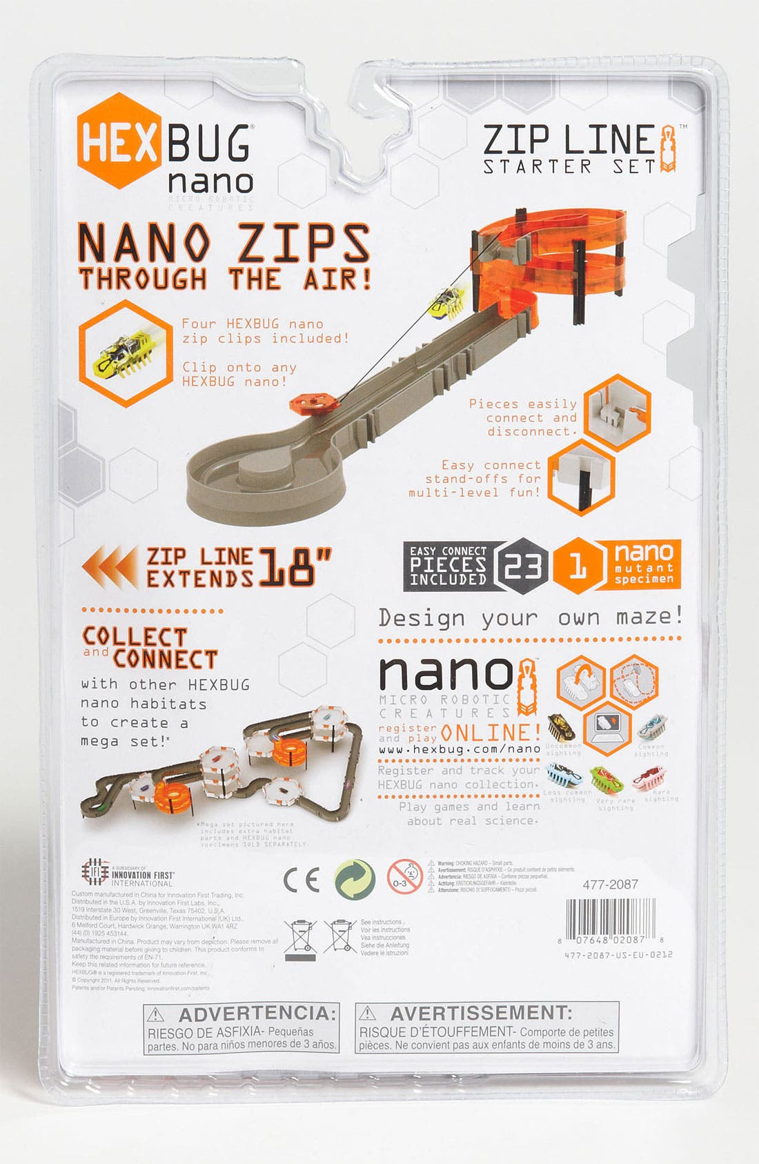 Alternate Image 2  - Hexbug Toys 'Nano Zip Line' Starter Set