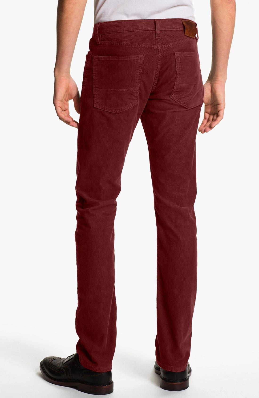 Alternate Image 1 Selected - Vince Slim Straight Leg Corduroy Pants