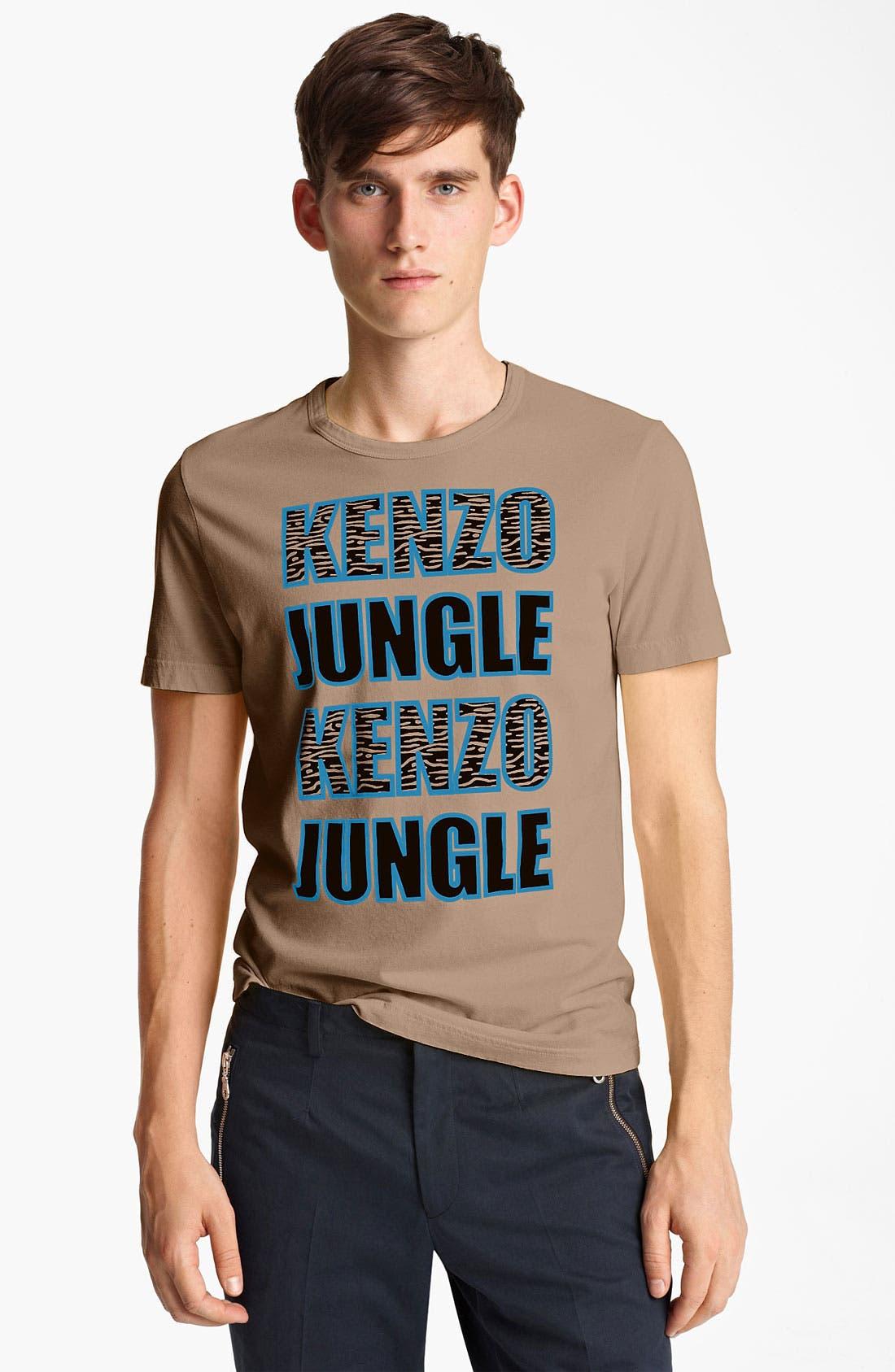 Alternate Image 1 Selected - KENZO 'Jungle' Graphic T-Shirt