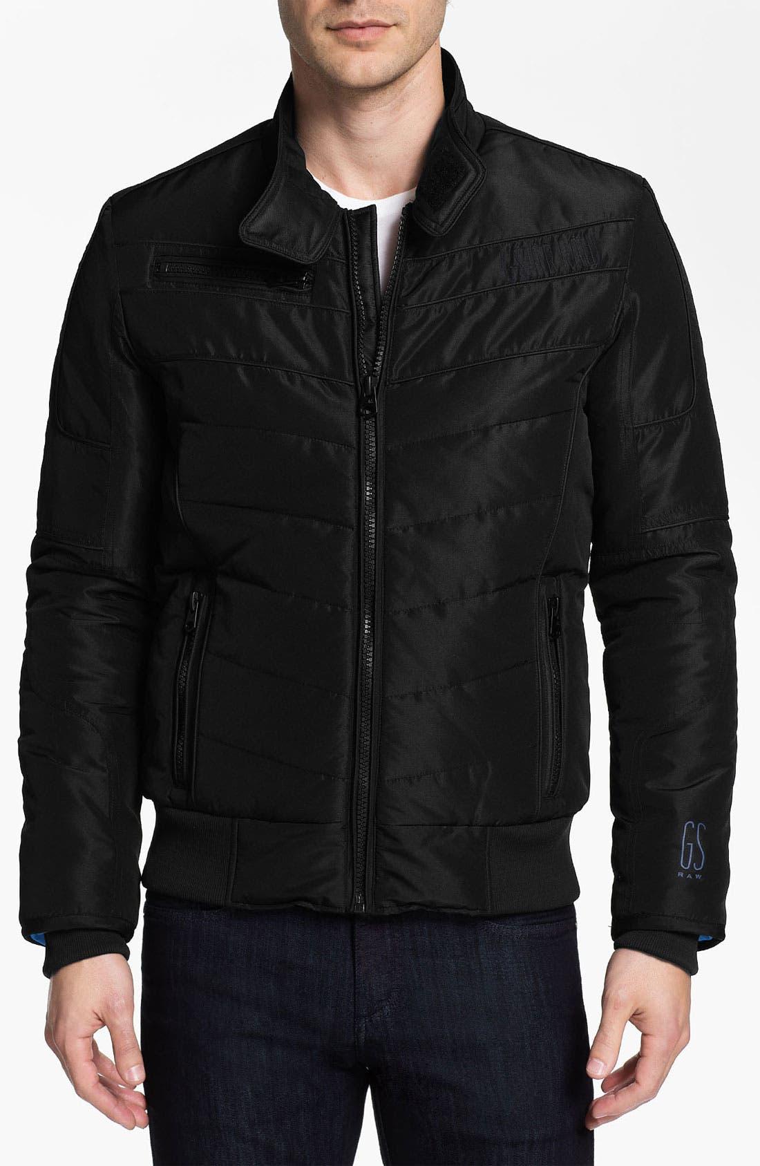 Main Image - G-Star Raw 'Mortiz' Quilted Moto Jacket