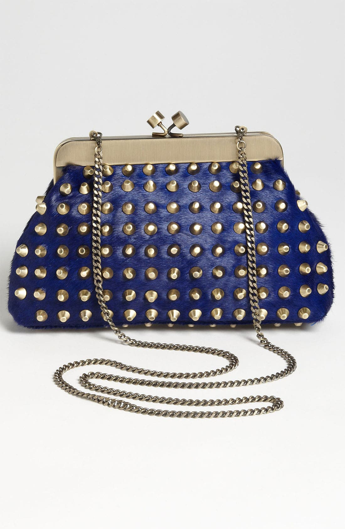 Alternate Image 4  - House of Harlow 1960 'Tilly' Studded Calf Hair Clutch