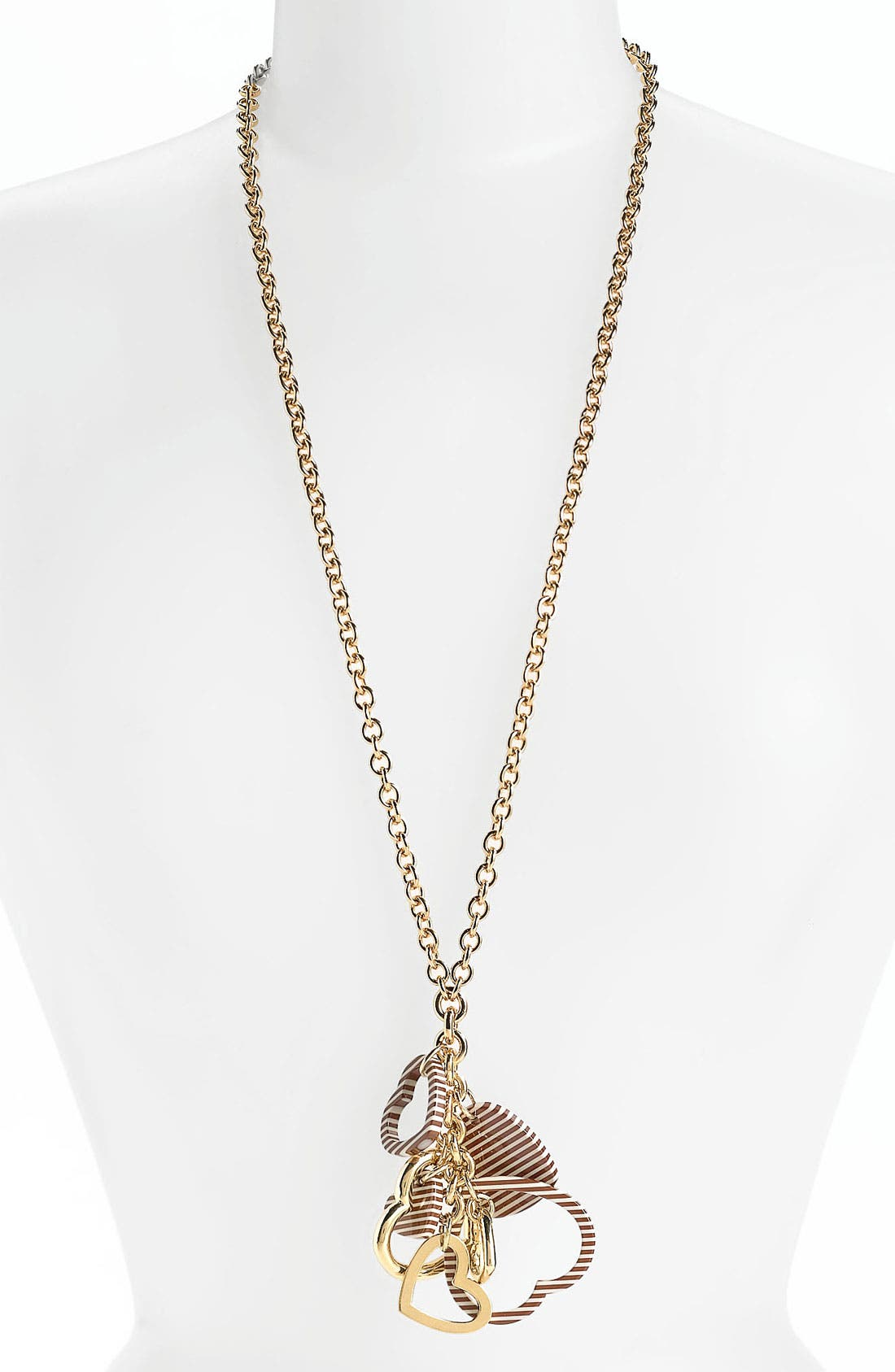 Alternate Image 1 Selected - Tory Burch 'Timo' Cluster Pendant Necklace