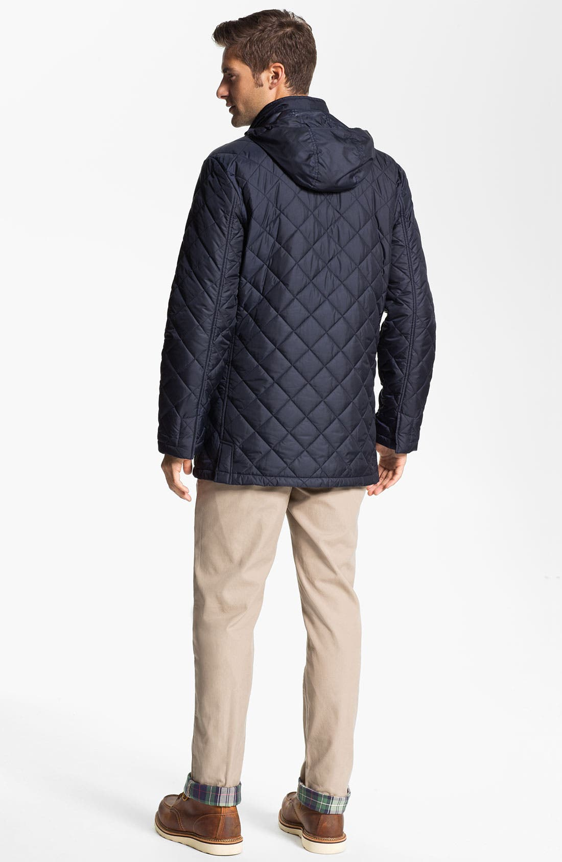 Alternate Image 5  - Brooks Brothers Quilted Walking Jacket