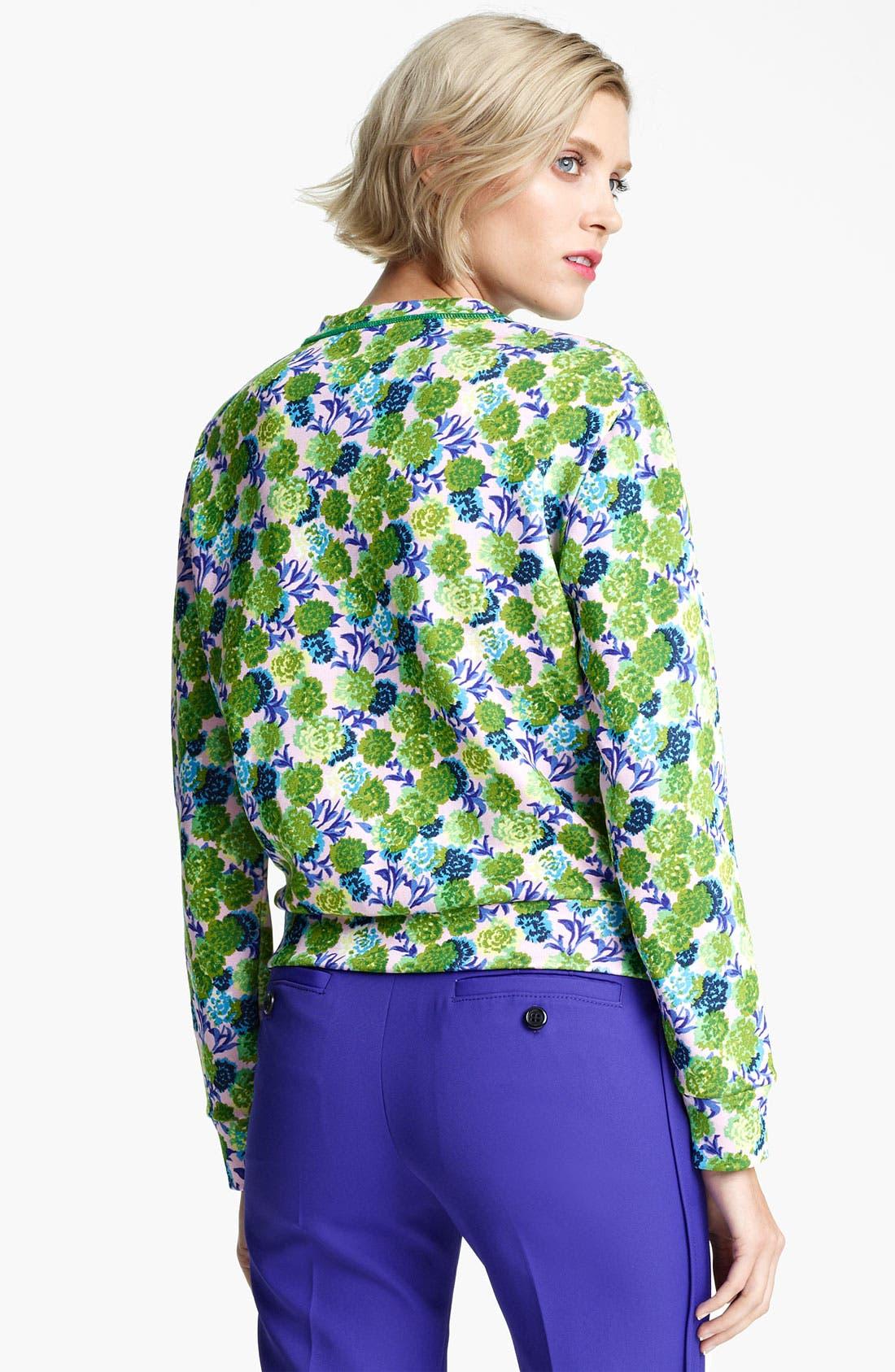 Alternate Image 2  - MARC JACOBS Floral Print Sweatshirt