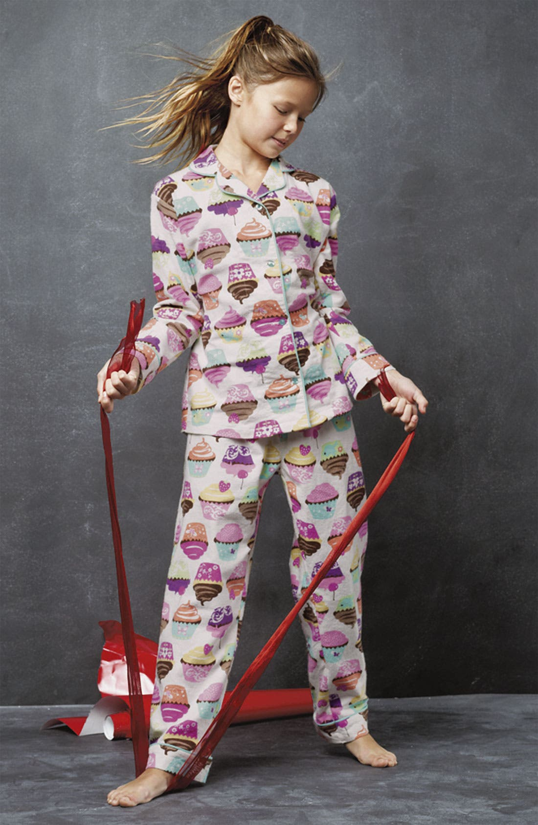 Alternate Image 2  - PJ Salvage Pajama Set (Little Girls & Big Girls)
