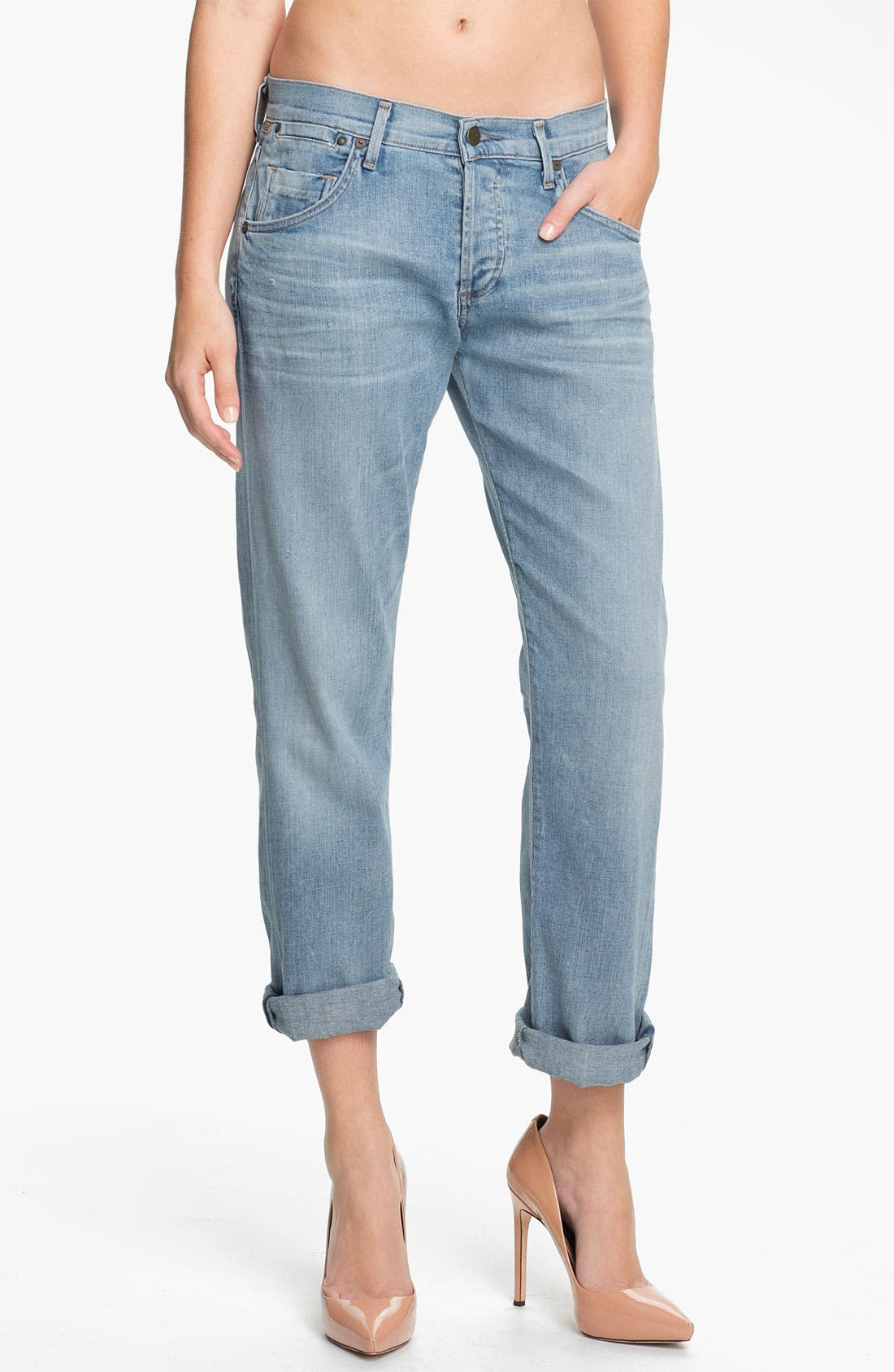 Alternate Image 1 Selected - Citizens of Humanity 'Dylan' Loose Fit Jeans (Seychelles)