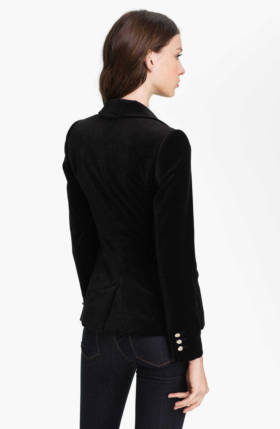 Alternate Image 2  - Ted Baker London Velvet Blazer