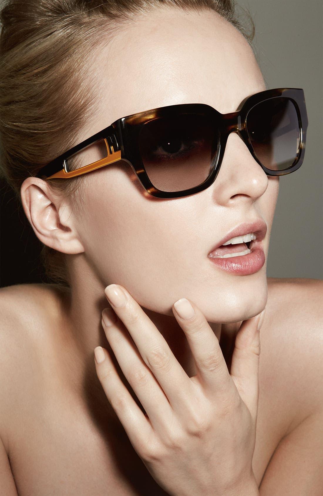 Alternate Image 2  - Fendi 52mm Retro Sunglasses