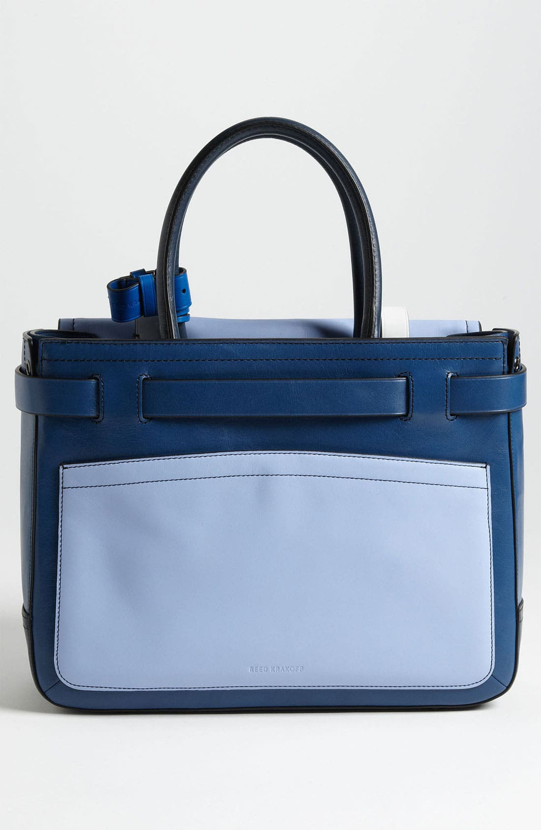 Alternate Image 4  - Reed Krakoff 'Boxer' Colorblock Leather Satchel