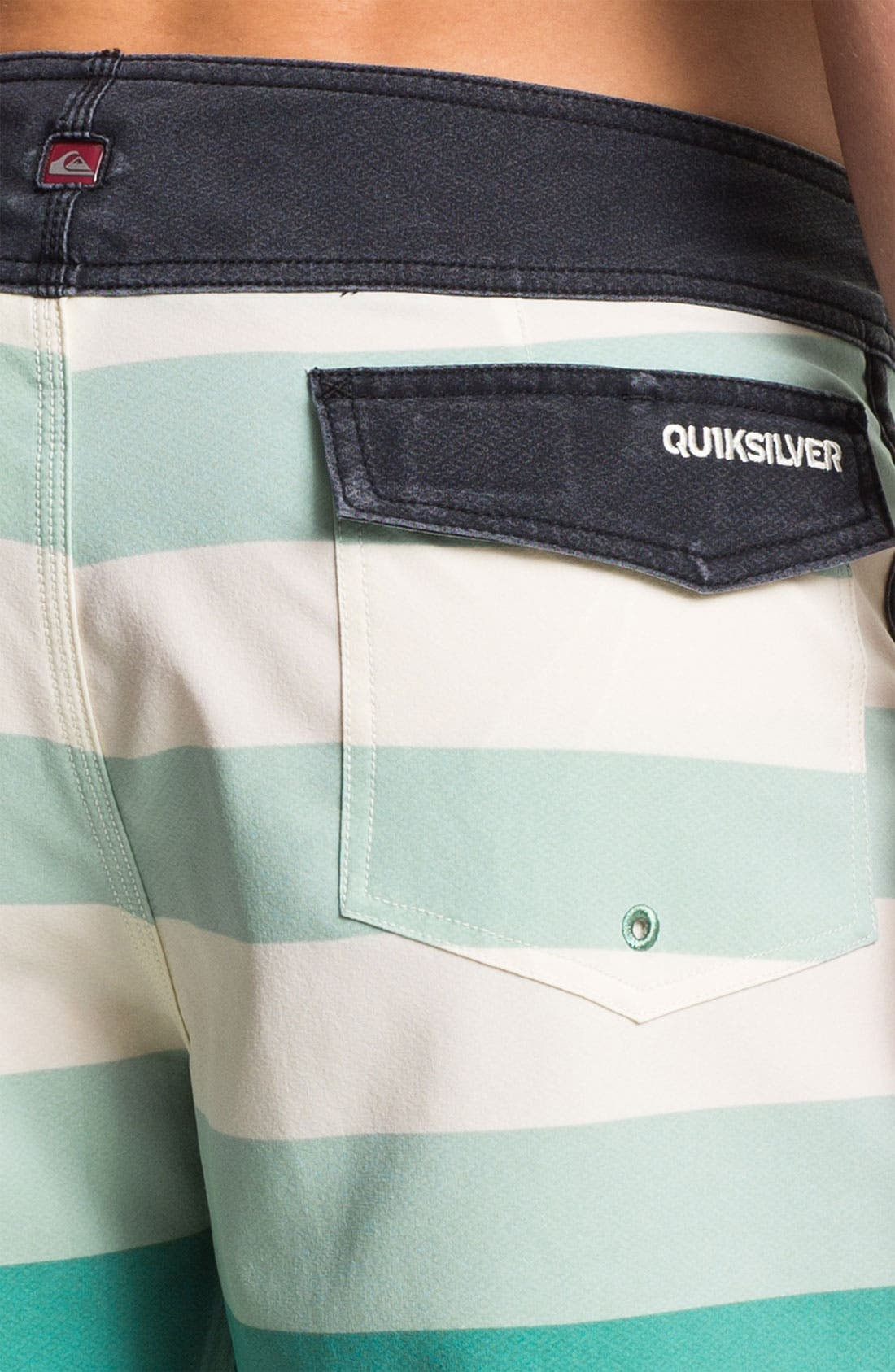 Alternate Image 3  - Quiksilver 'Cypher Brigg' Scalloped Board Shorts