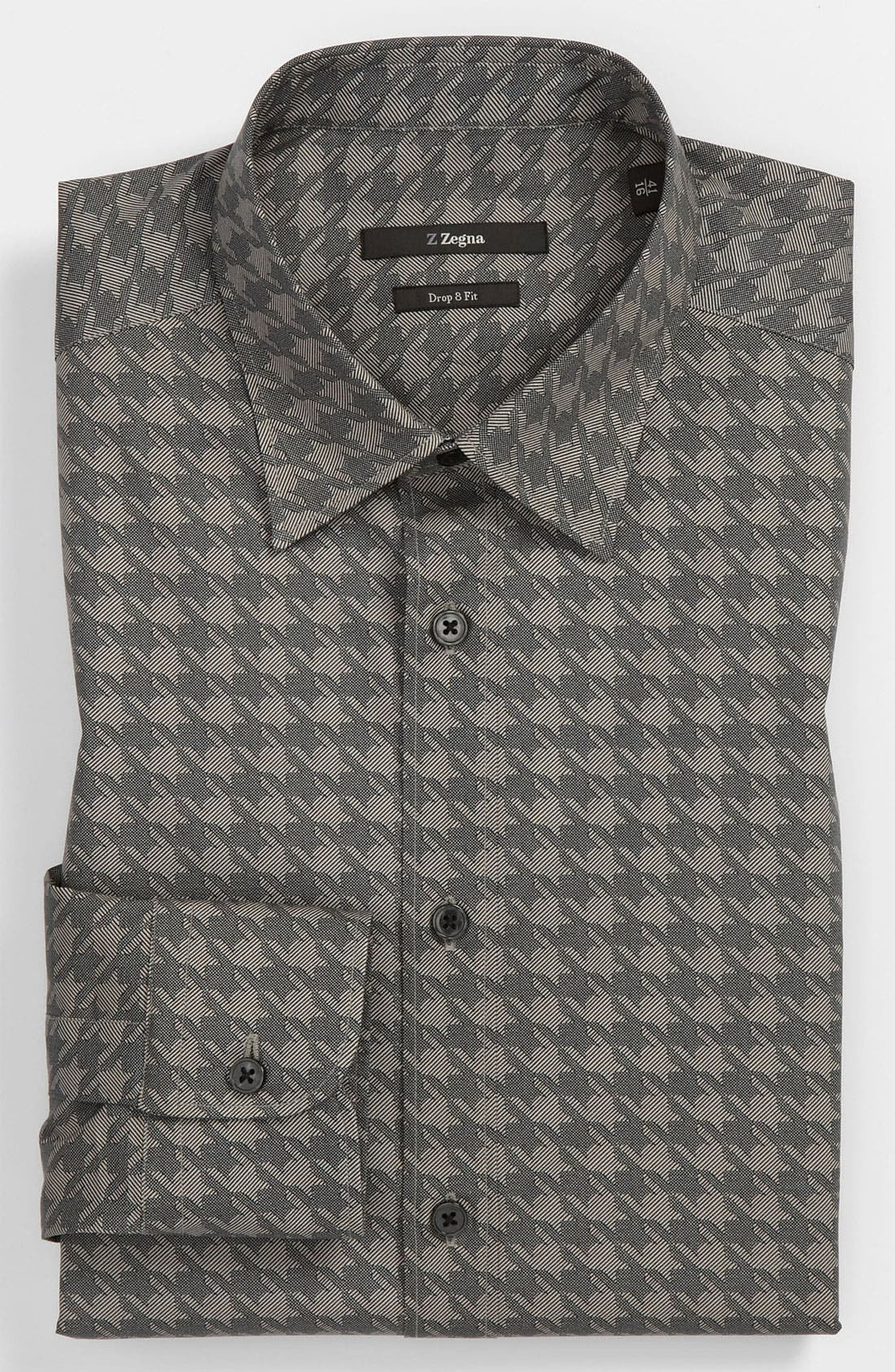 Alternate Image 1 Selected - Z Zegna Drop 8 Fit Dress Shirt