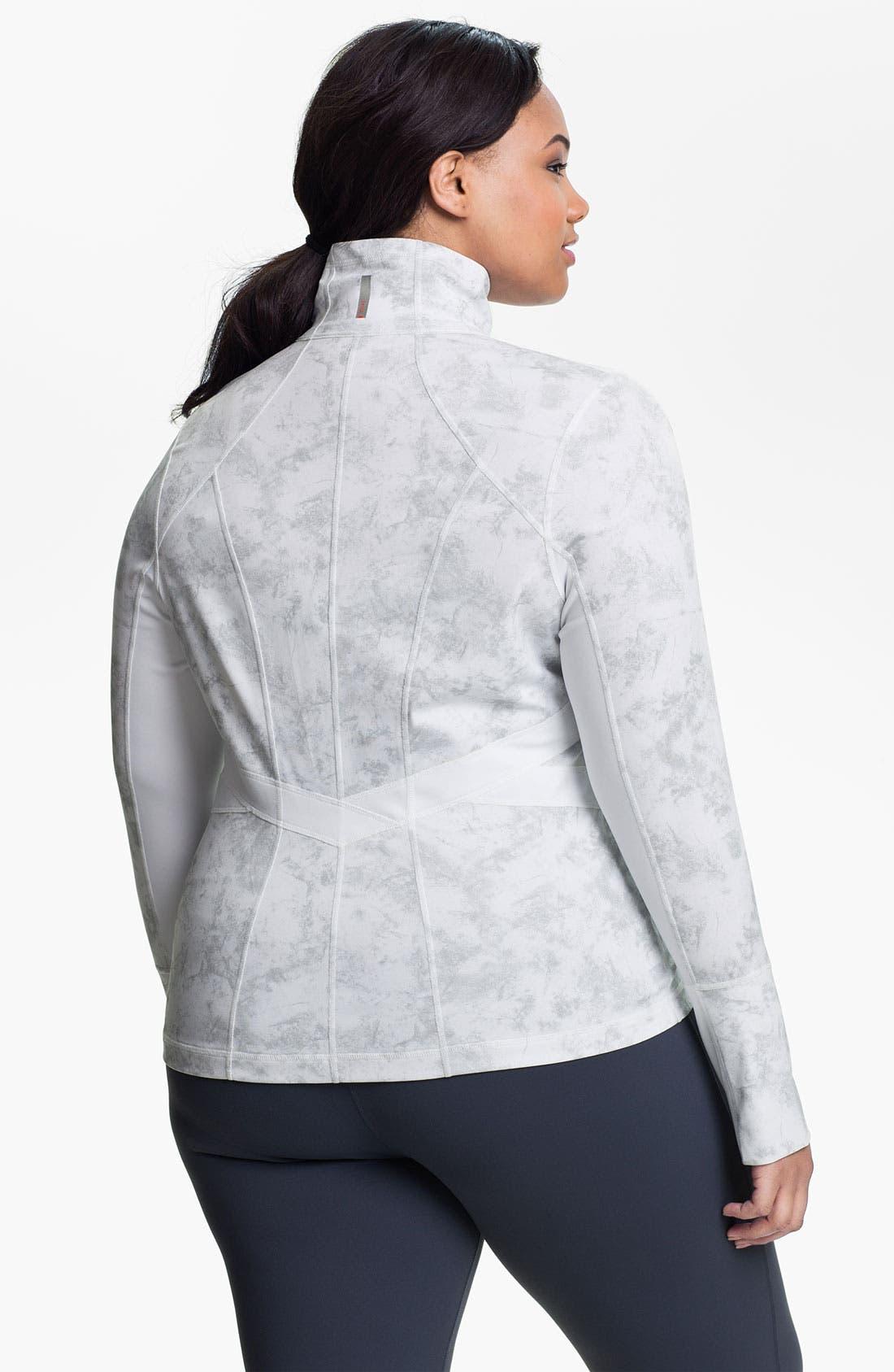 Alternate Image 2  - Zella 'Karin' Fitted Jacket (Plus)