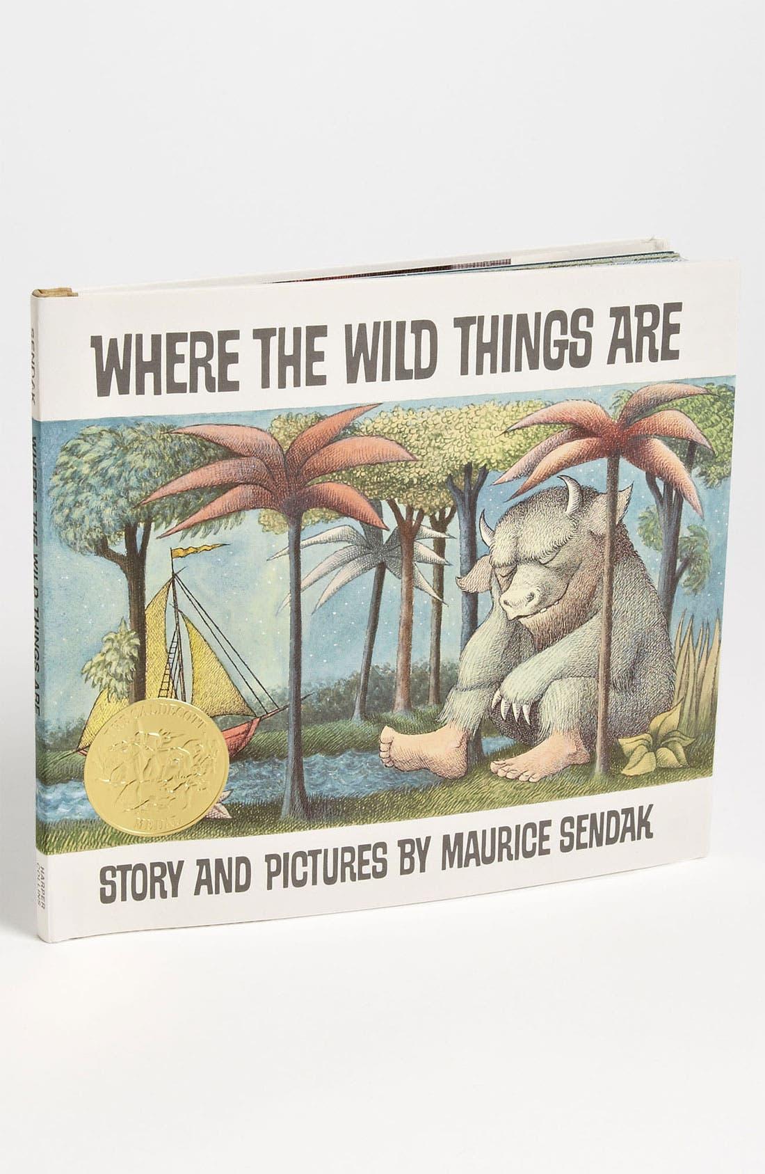 Main Image - Maurice Sendak 'Where The Wild Things Are' Book