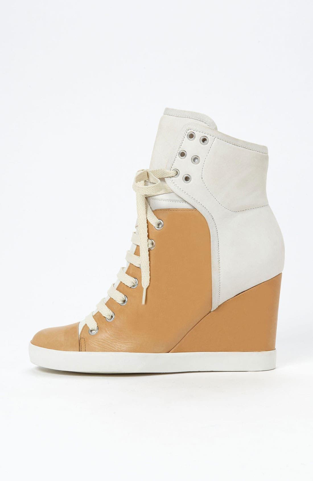Alternate Image 4  - See by Chloé High Top Wedge Sneaker