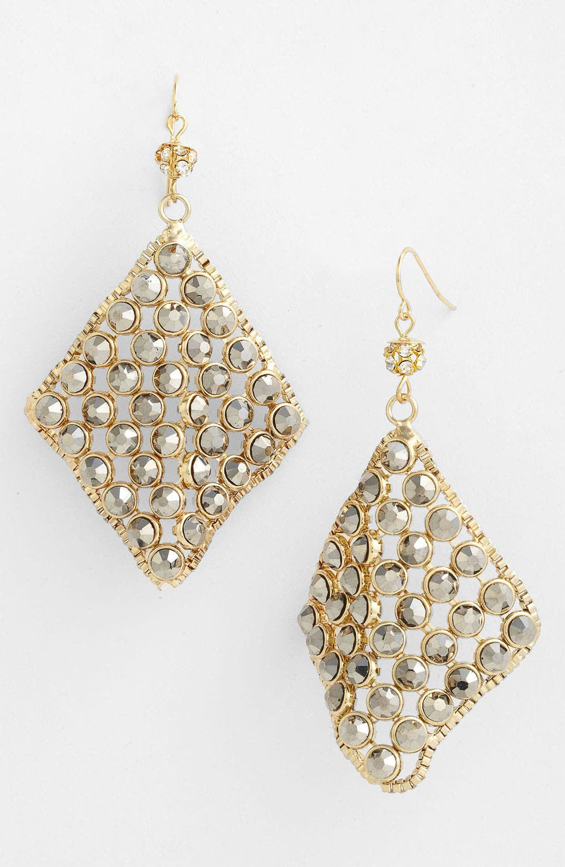 Alternate Image 1 Selected - Spring Street Diamond Shaped Earrings