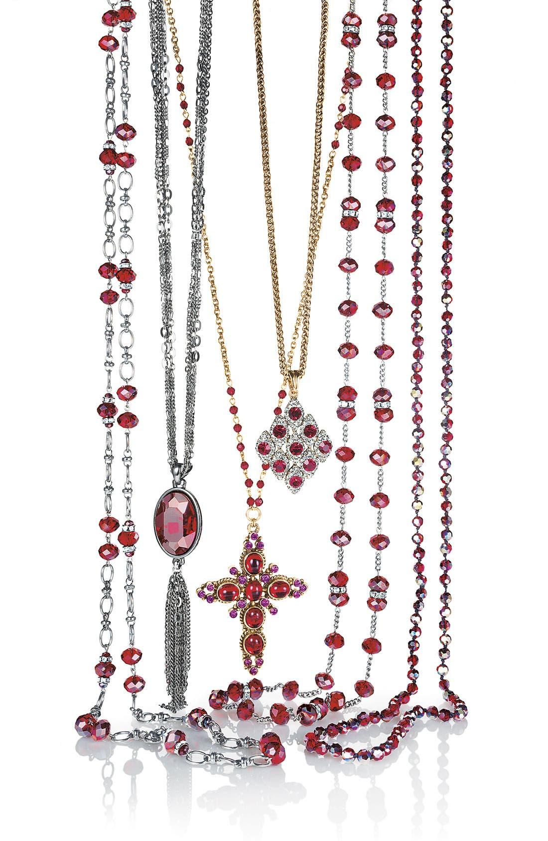 Alternate Image 2  - Nordstrom Long Tassel Necklace