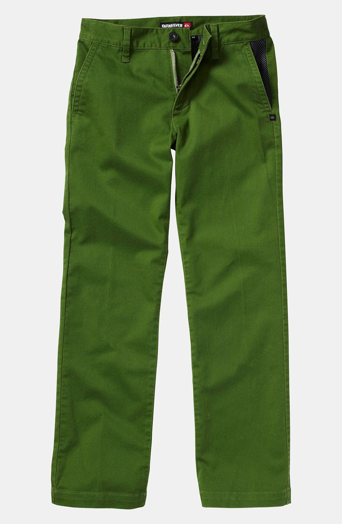 Alternate Image 1 Selected - Quiksilver 'Box Wire' Slim Straight Leg Chino Pants (Little Boys)