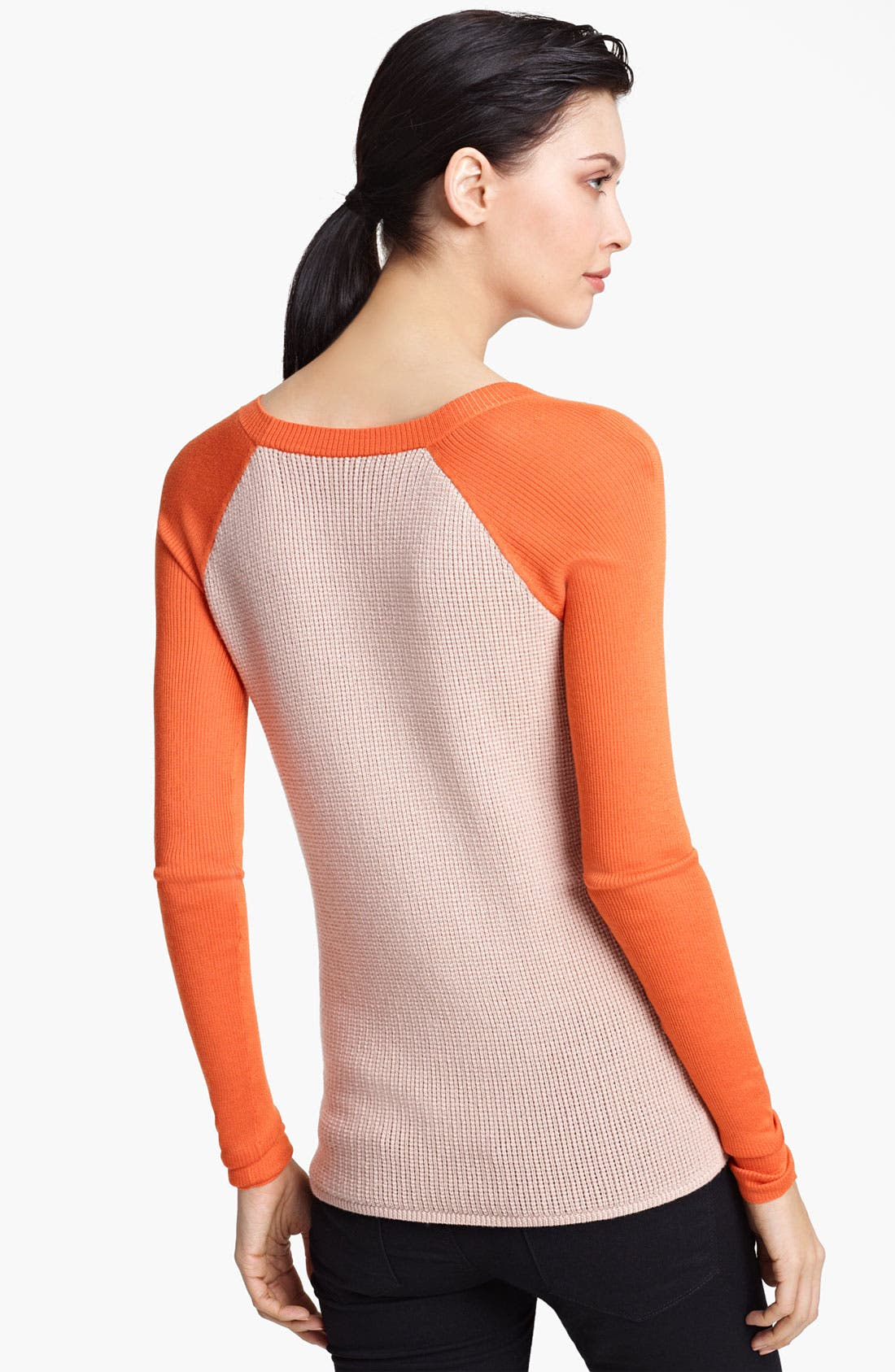 Alternate Image 2  - Reed Krakoff Knit Baseball Sweater