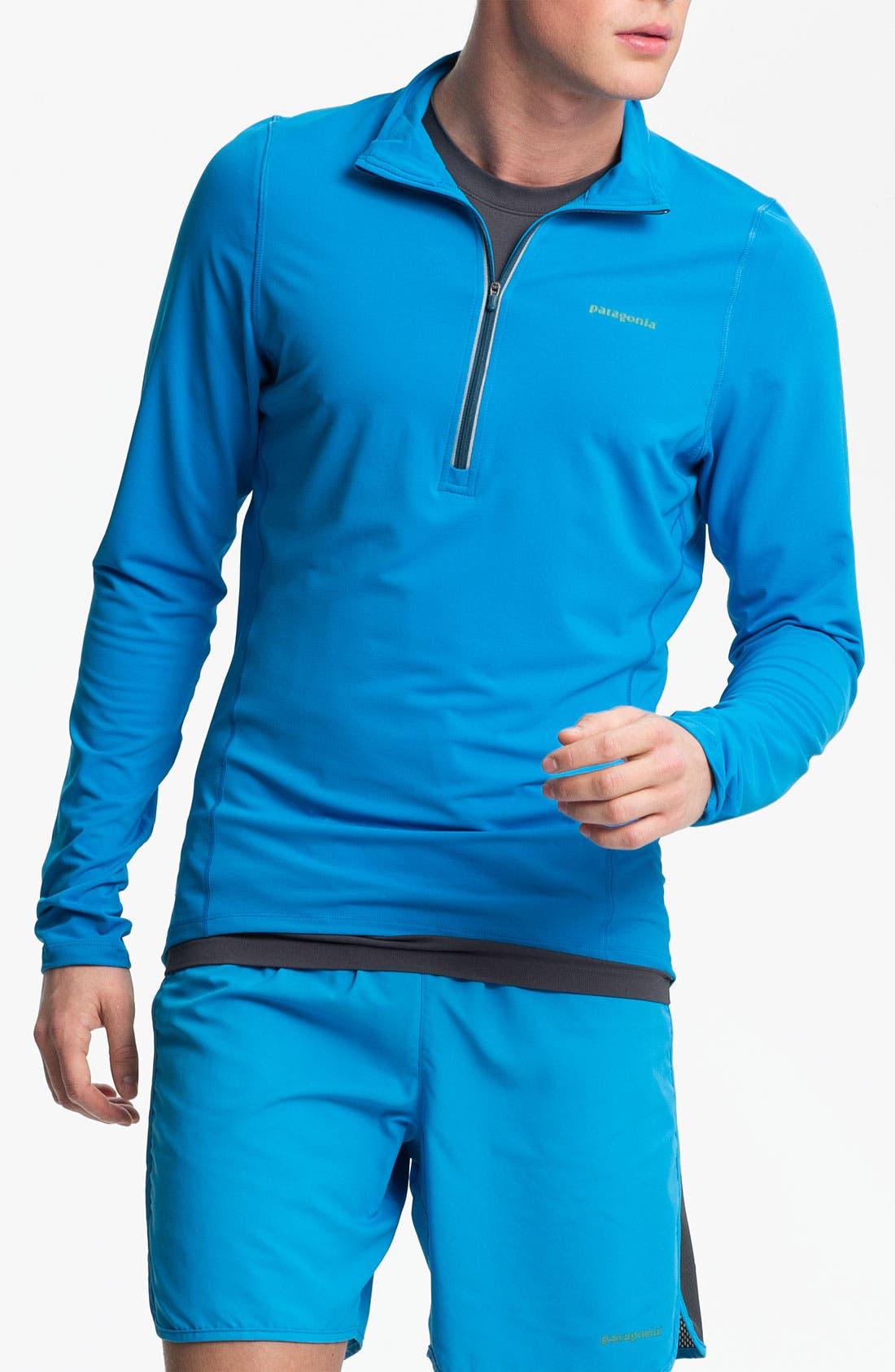 Alternate Image 1 Selected - Patagonia Half Zip Pullover
