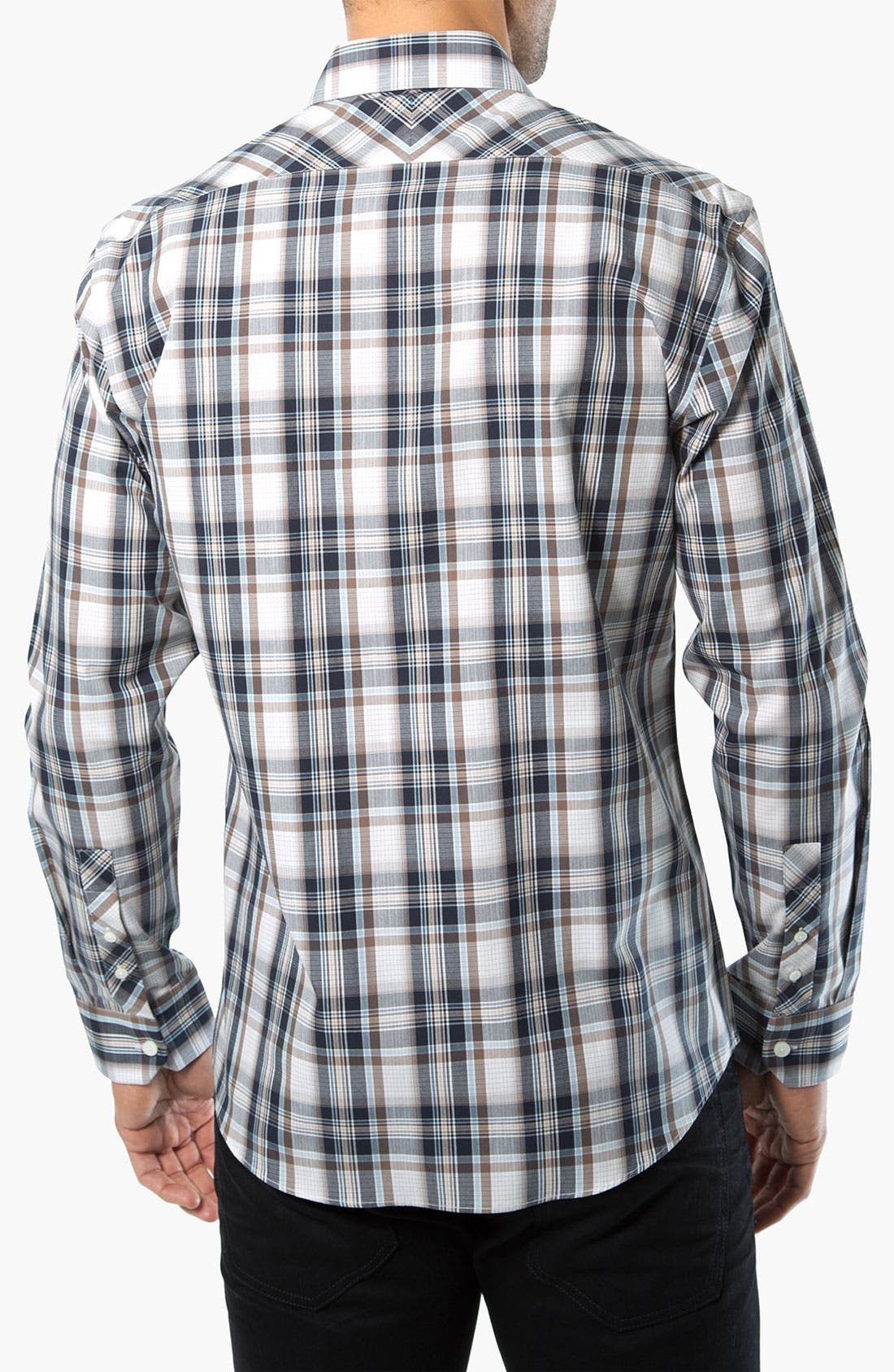 Alternate Image 2  - Kenson 'High Noon' Plaid Woven Shirt