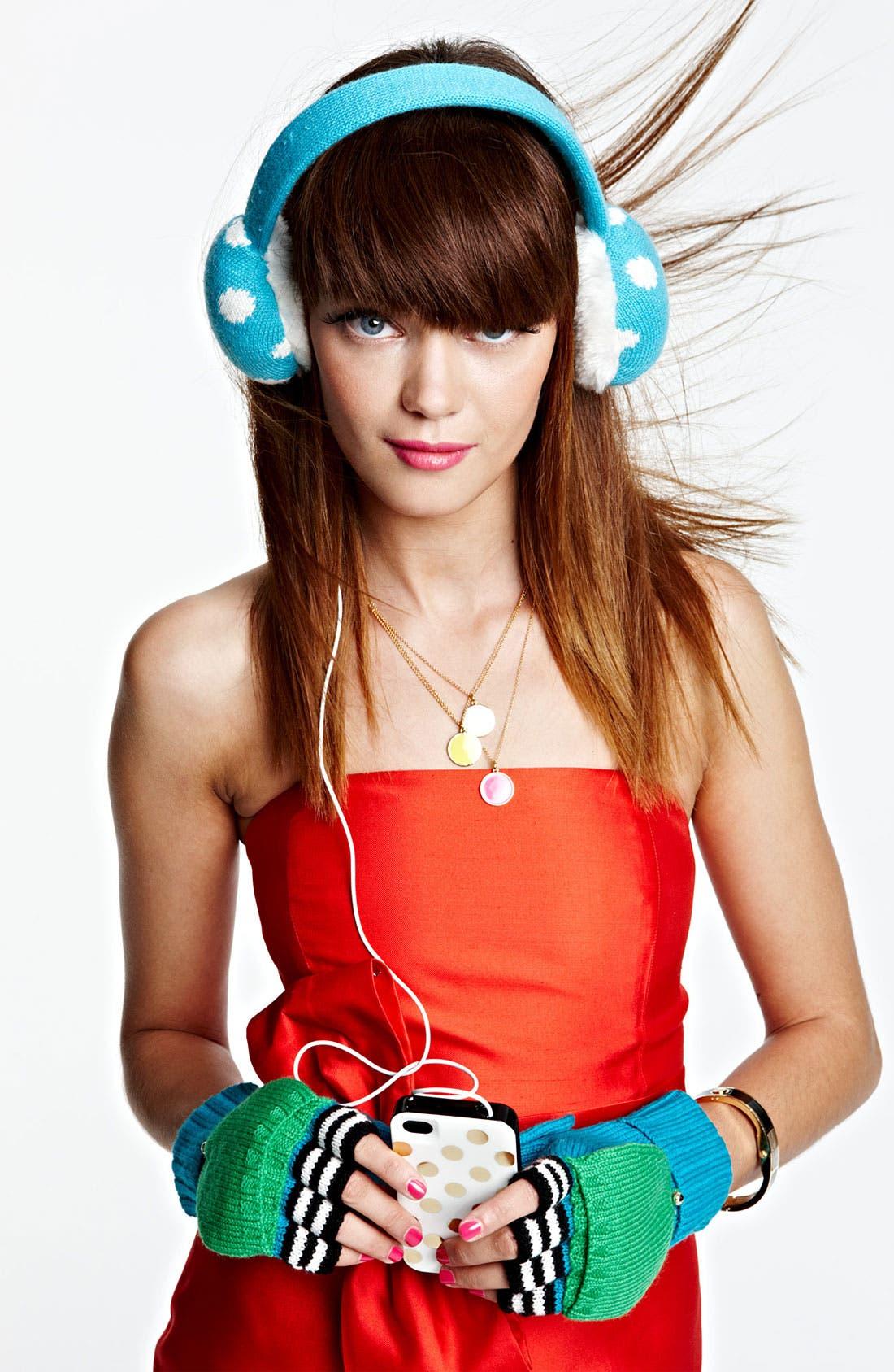 Alternate Image 2  - kate spade new york 'spotty' tech earmuffs