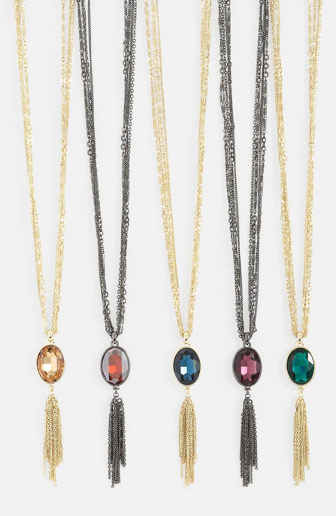 Alternate Image 1 Selected - Nordstrom Long Tassel Necklace
