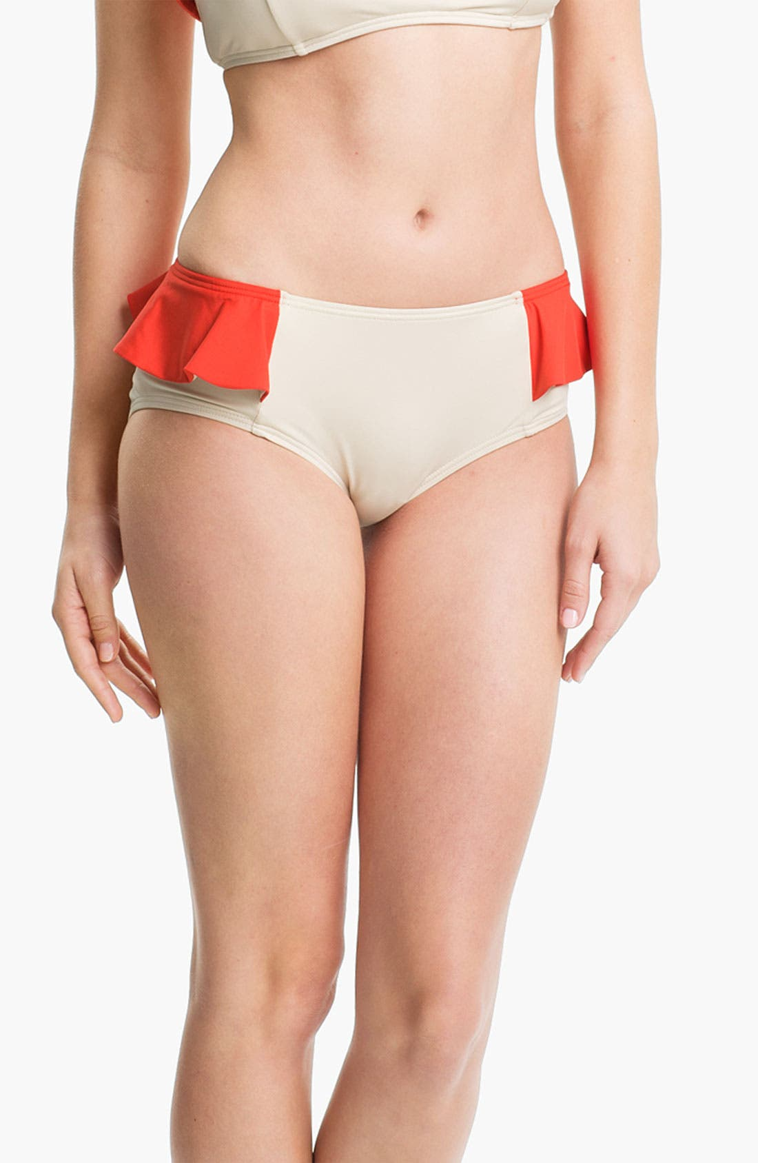 Alternate Image 1 Selected - MARC BY MARC JACOBS Colorblock Peplum Hipster