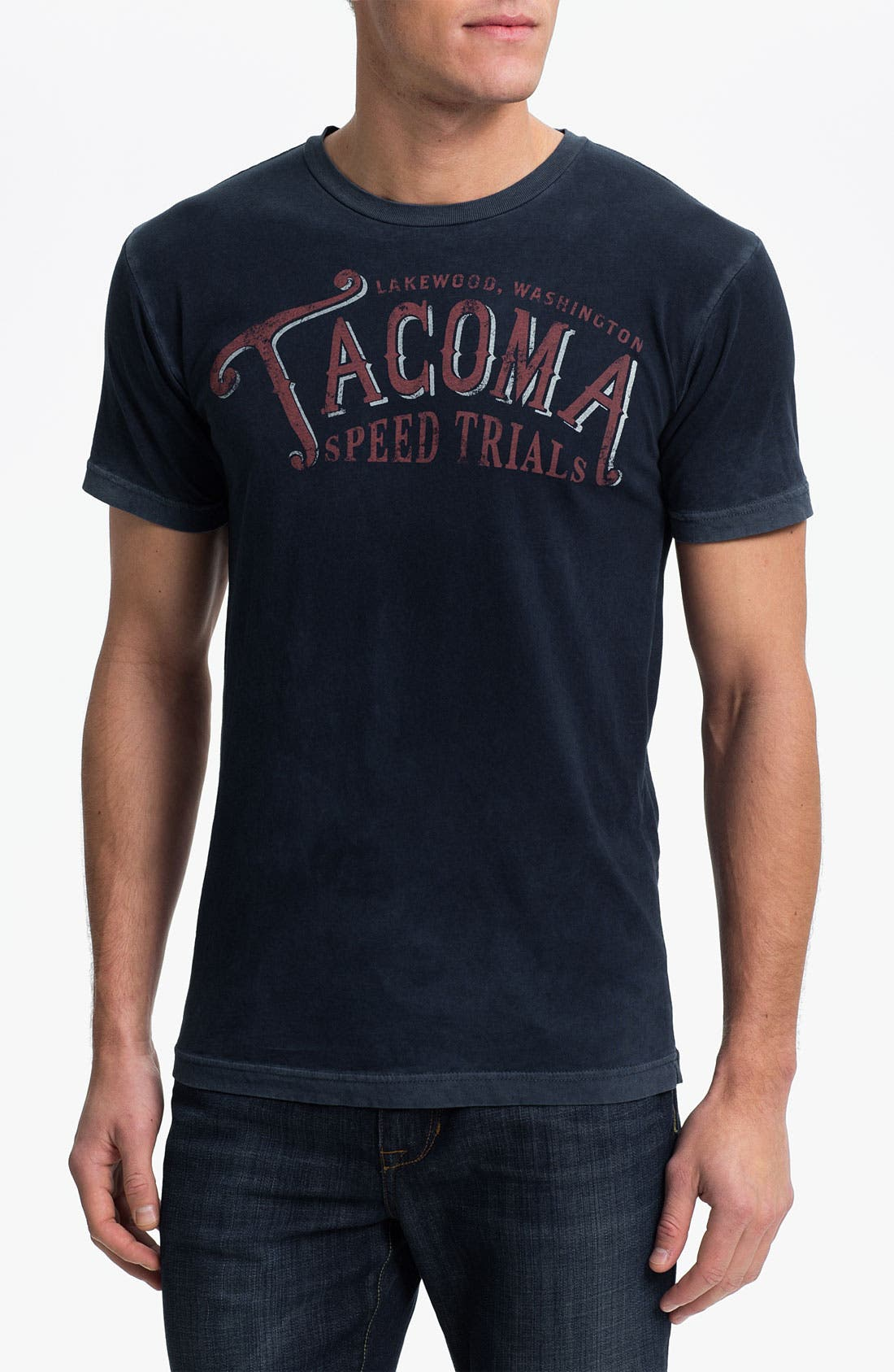 Main Image - Denim & Leathers by Andrew Marc 'Tacoma Speed Trials' Graphic T-Shirt