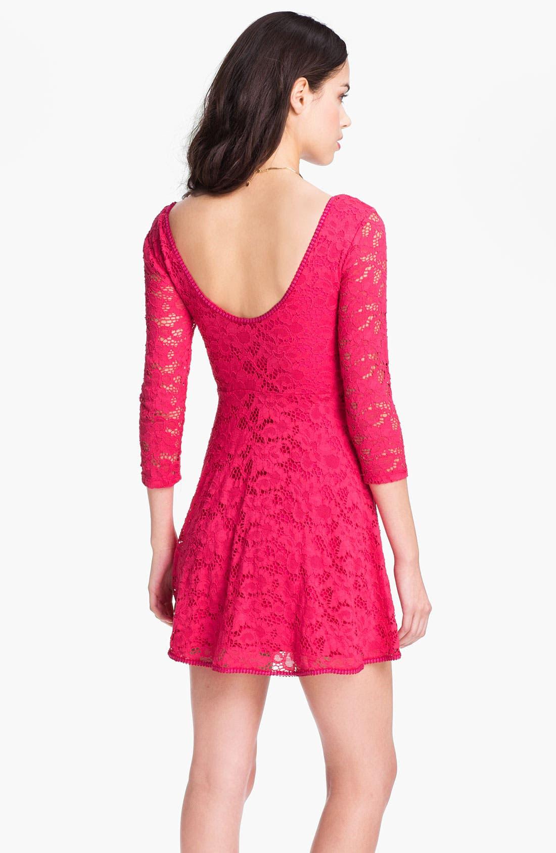 Alternate Image 3  - Free People Lace Minidress