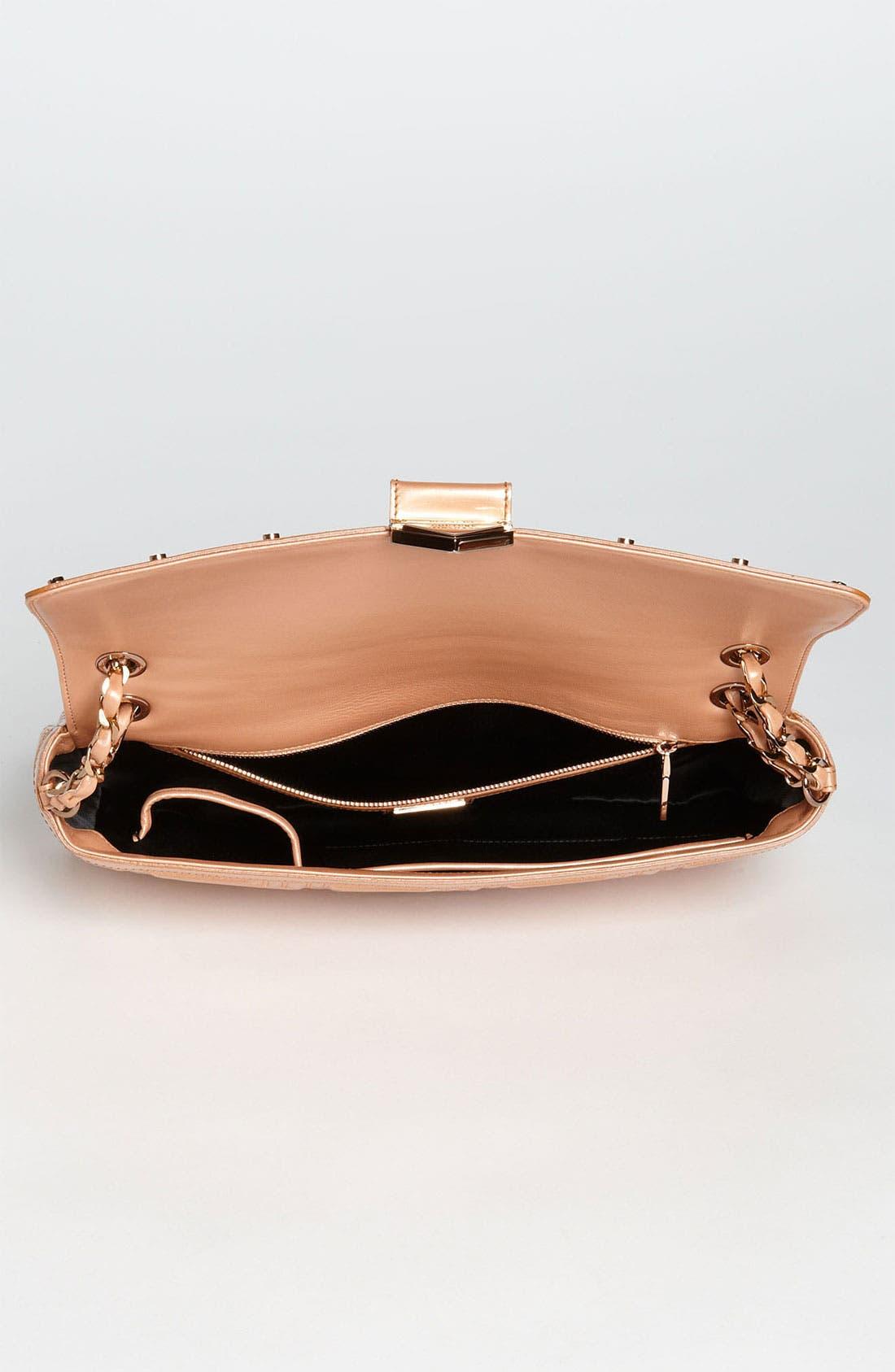 Alternate Image 3  - Versace 'Large' Patent Leather Shoulder Bag