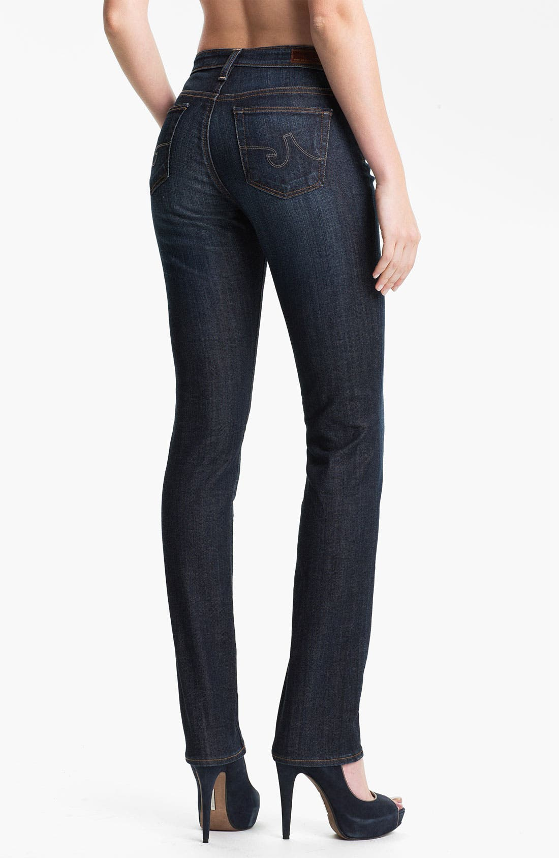Alternate Image 2  - AG Jeans 'The Premiere' Skinny Stretch Jeans (Swoon)