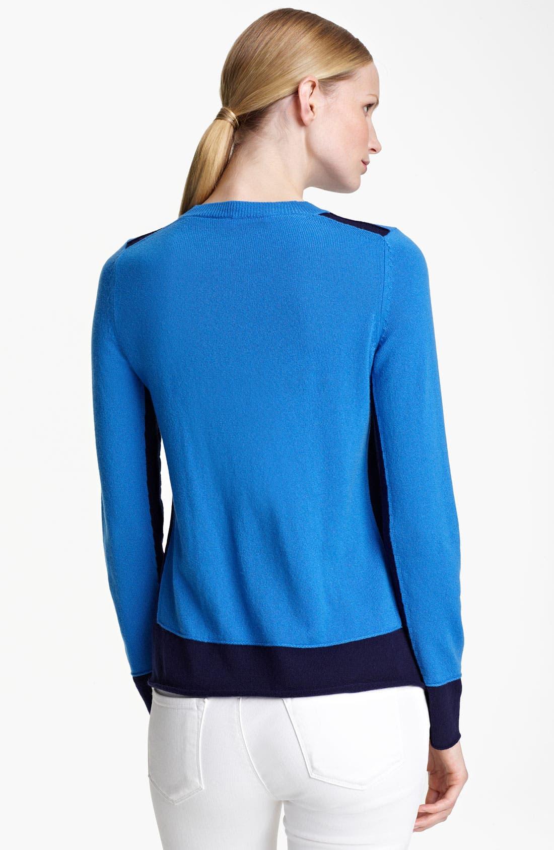 Alternate Image 2  - Jil Sander Contrast Hem Cashmere Sweater