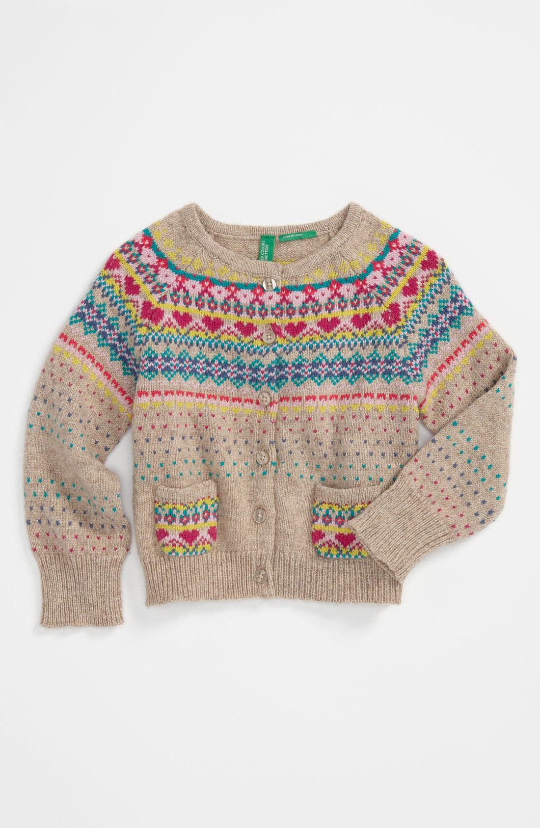 Main Image - United Colors of Benetton Kids Knit Sweater (Infant)