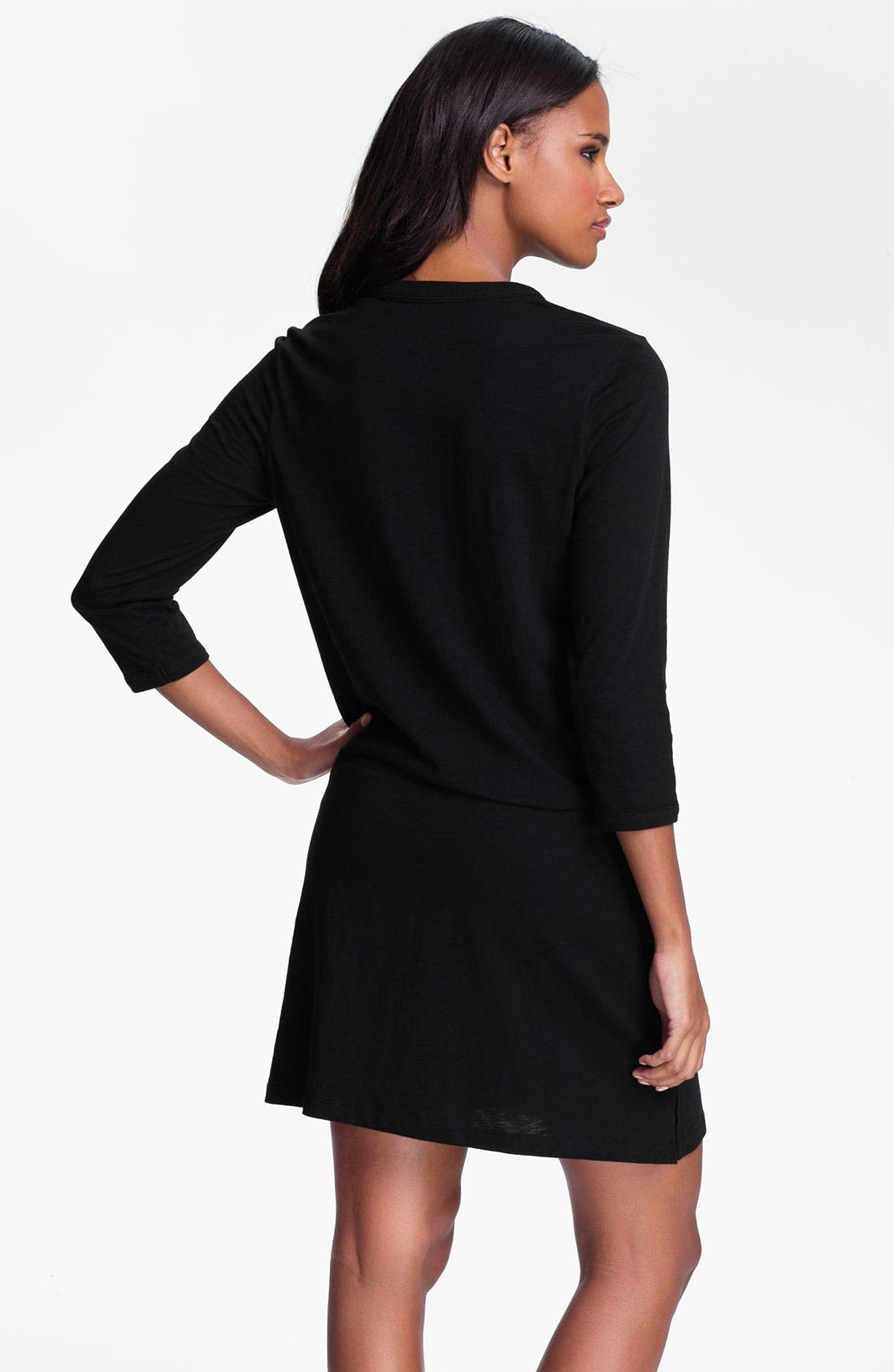 Alternate Image 2  - Lauren Ralph Lauren Sleepwear Knit Lounge Dress