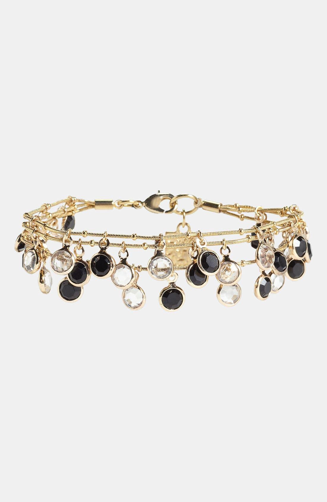 Alternate Image 1 Selected - Anne Klein Multistrand Bracelet