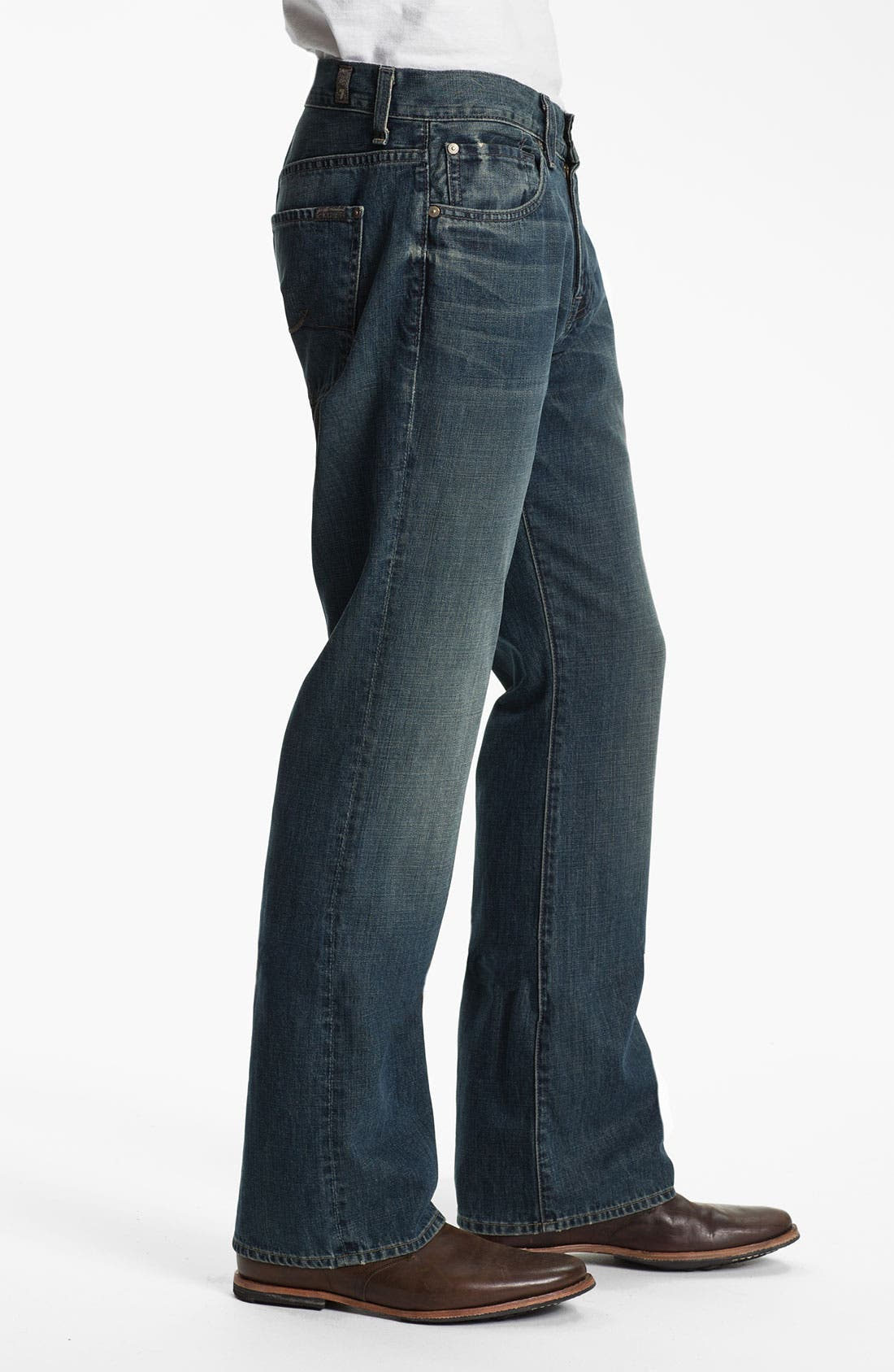 Alternate Image 3  - 7 For All Mankind® 'Brett' Bootcut Jeans (Baring Bay) (Online Exclusive)