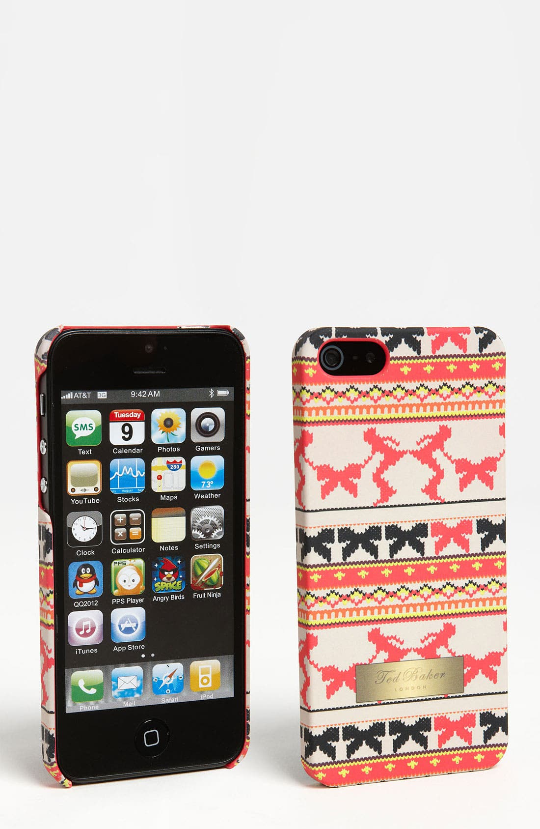 Alternate Image 1 Selected - Ted Baker London 'Fair Isle Skater' iPhone 5 Case