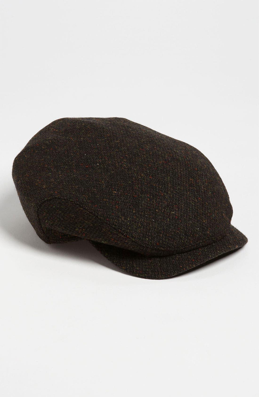 Main Image - Wigens Donegal Tweed Earflap Driving Cap