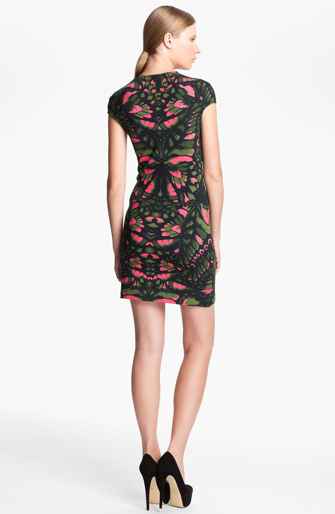 Alternate Image 2  - McQ by Alexander McQueen Cap Sleeve Dress