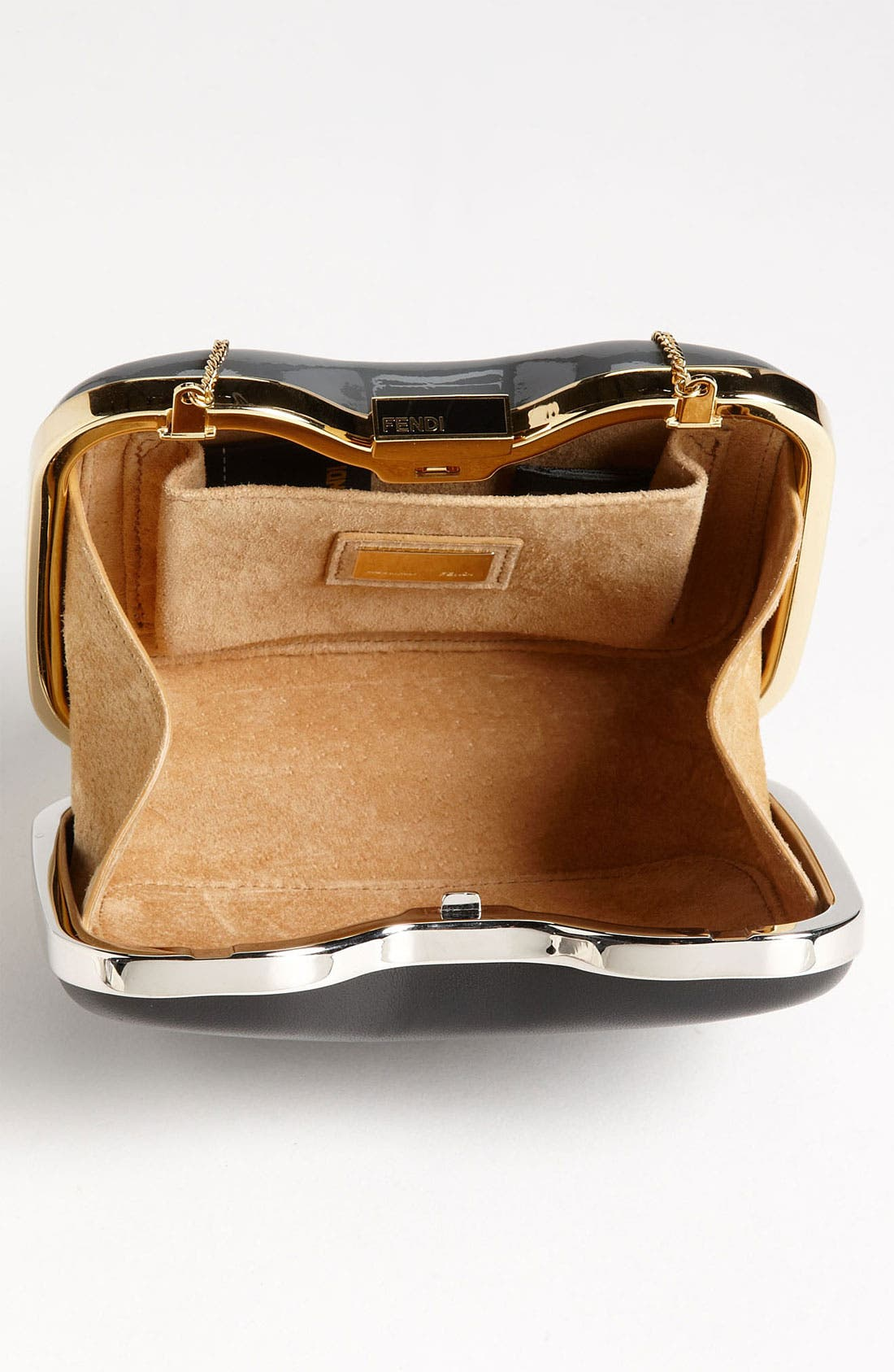 Alternate Image 3  - Fendi 'Giano' Leather Clutch