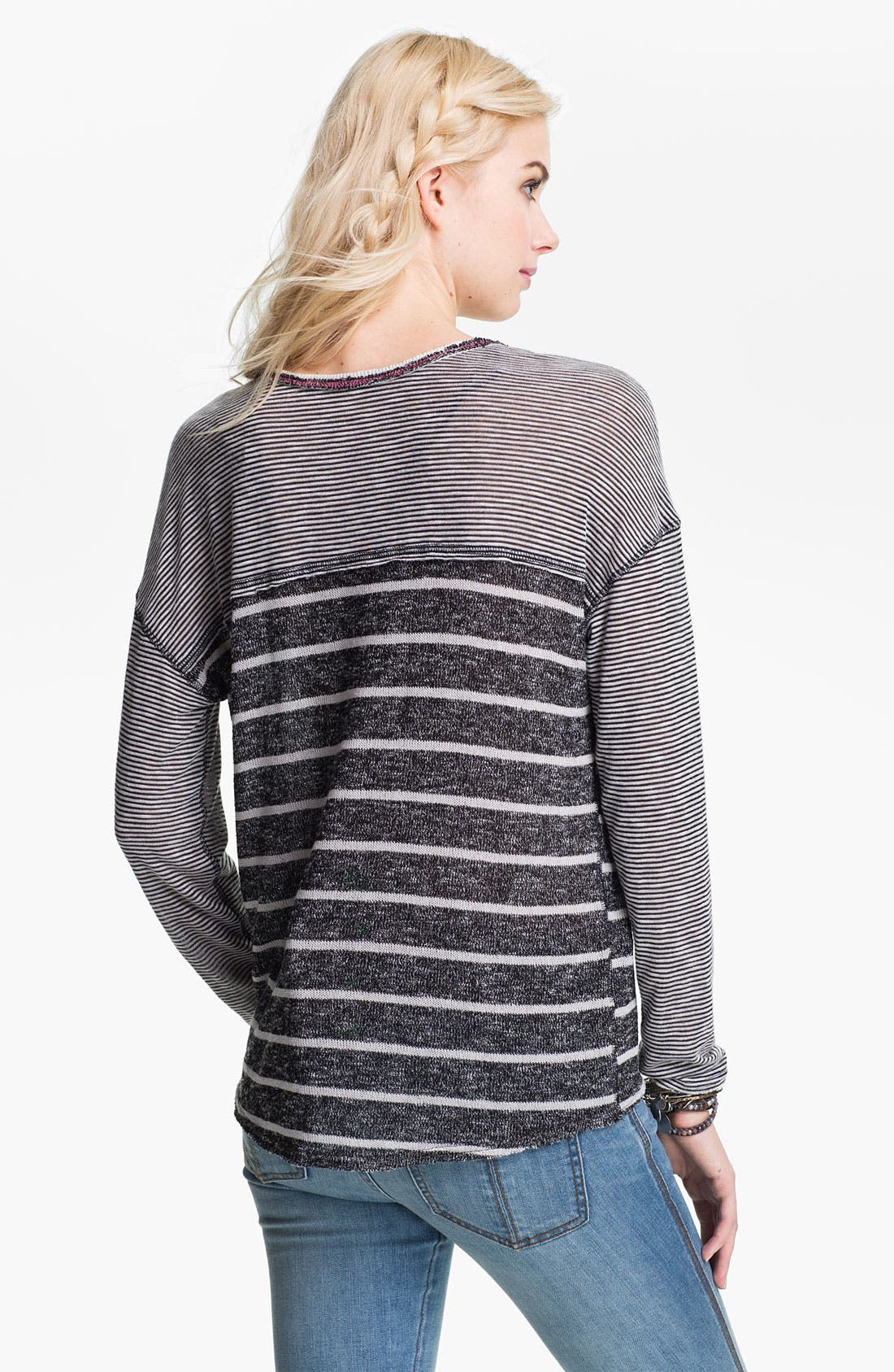 Alternate Image 2  - Free People 'Hang Ten' Twin Stripe Top