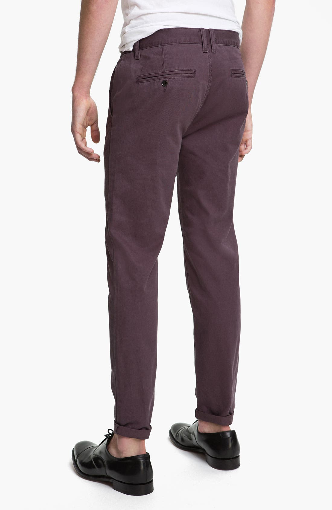 Alternate Image 2  - Topman 'Fudge Bauer' Skinny Fit Chinos