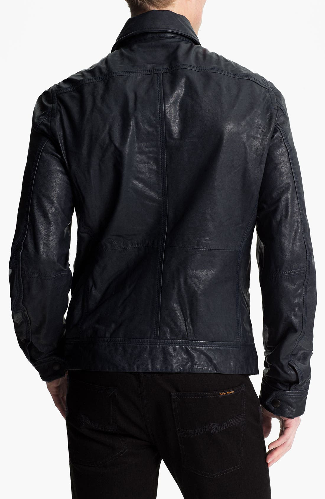 Alternate Image 2  - DIESEL® 'Lordid' Leather Jacket