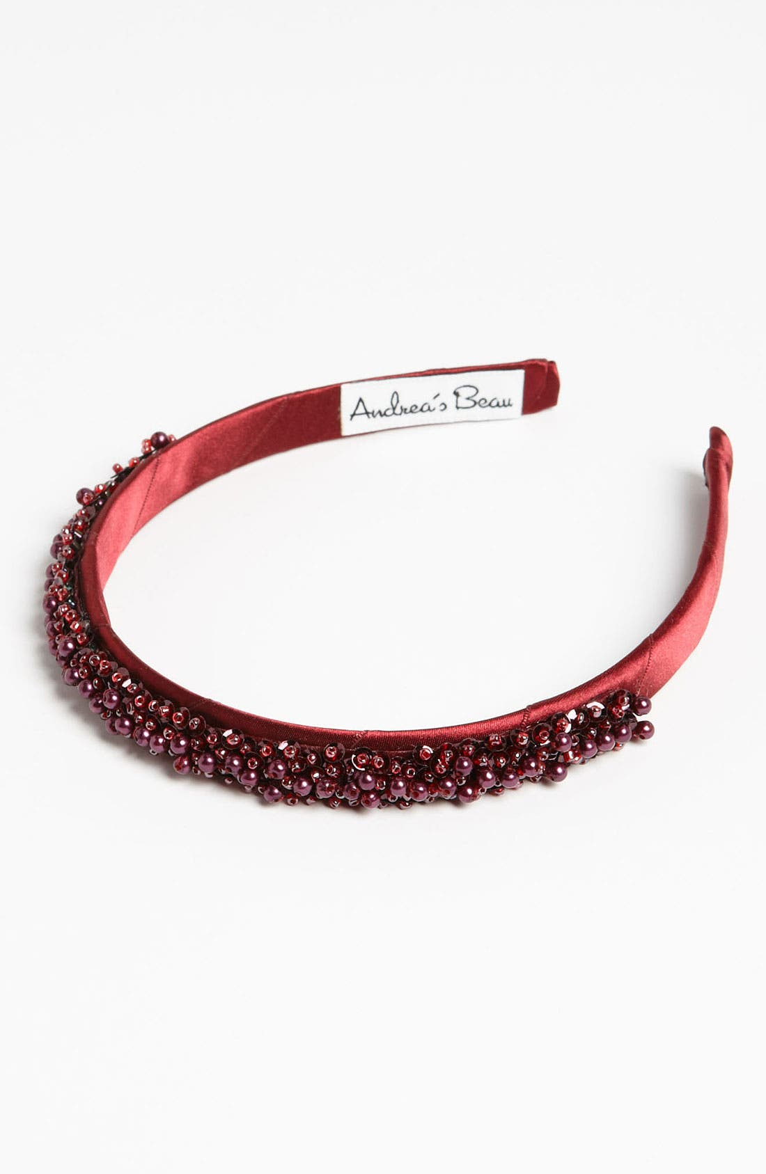 Main Image - Andrea's Beau Beaded Headband (Girls)