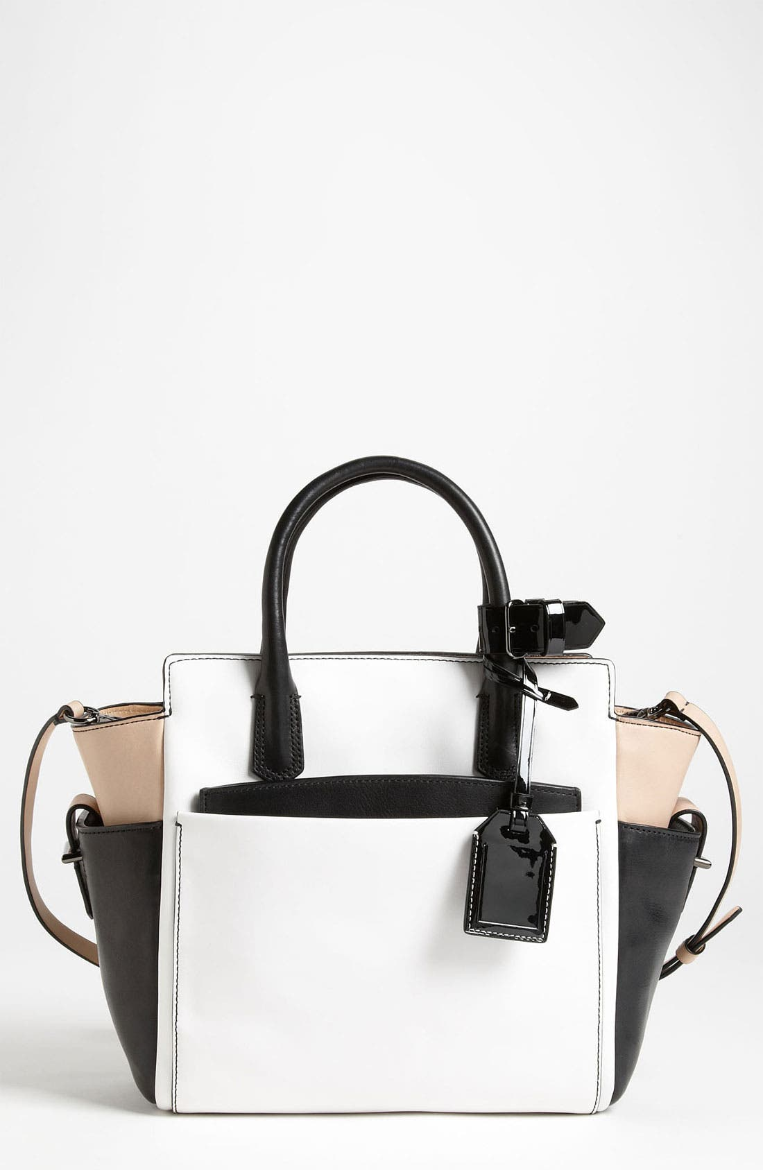 Main Image - Reed Krakoff 'Atlantique - Mini' Colorblock Leather Satchel