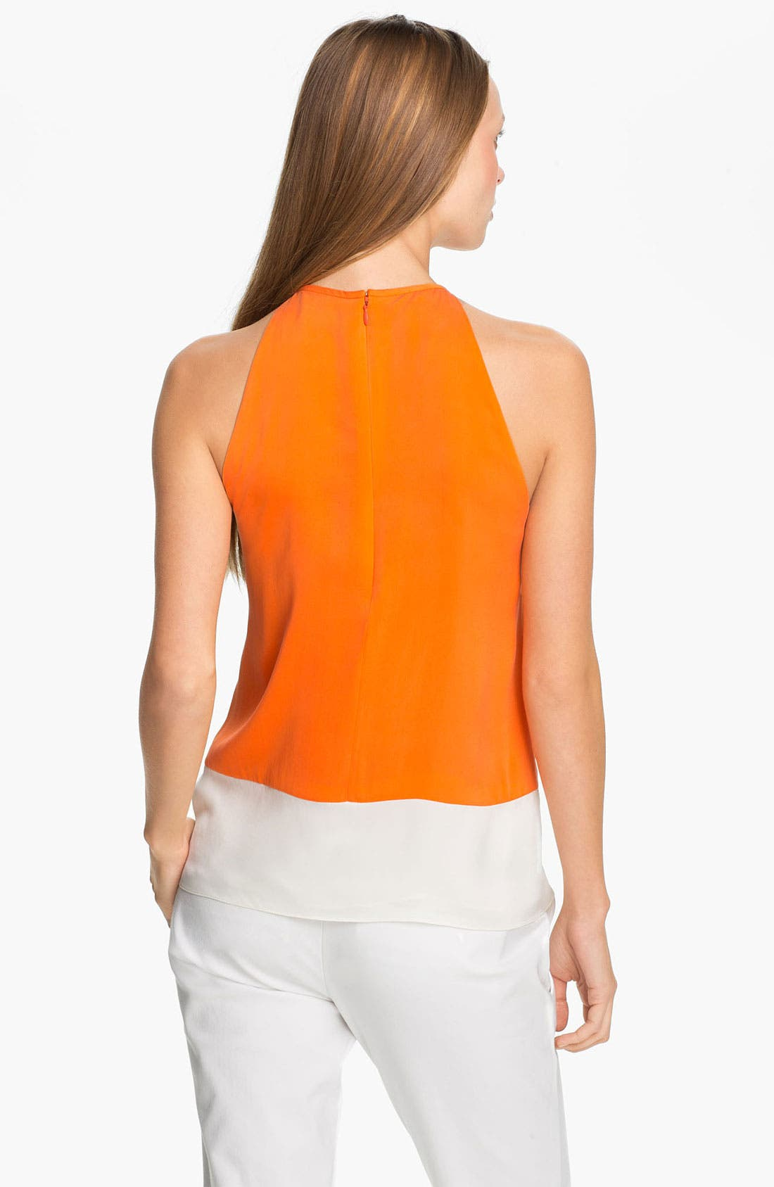Alternate Image 2  - Theory 'Milka C.' Stretch Silk Halter Top