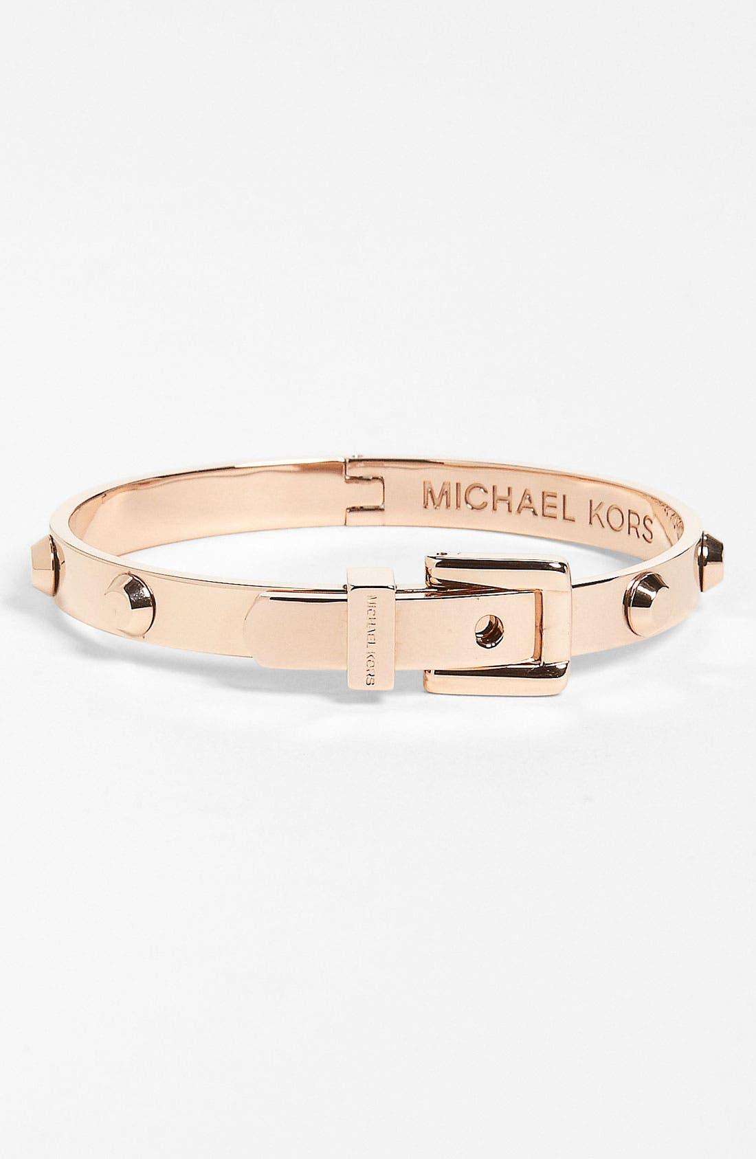 Alternate Image 1 Selected - Michael Kors 'Astor' Buckle Bangle