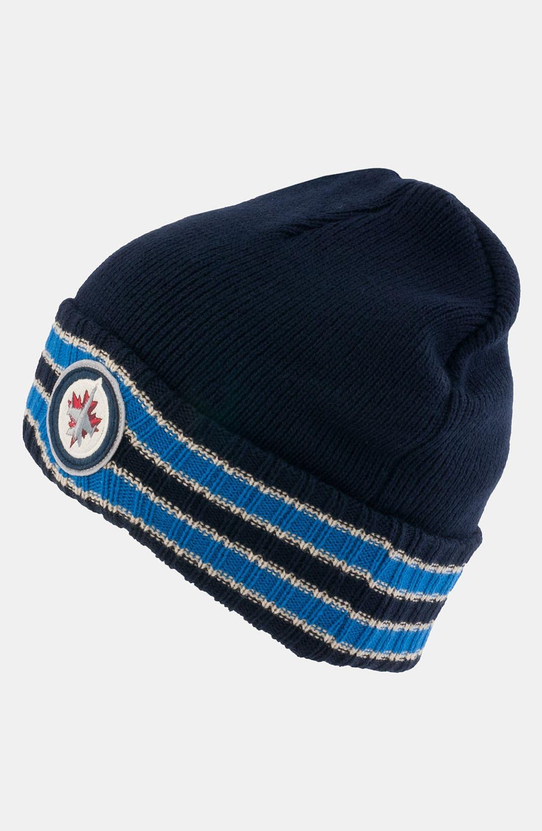 Main Image - American Needle 'Winnepeg Jets - Slash' Knit Hat